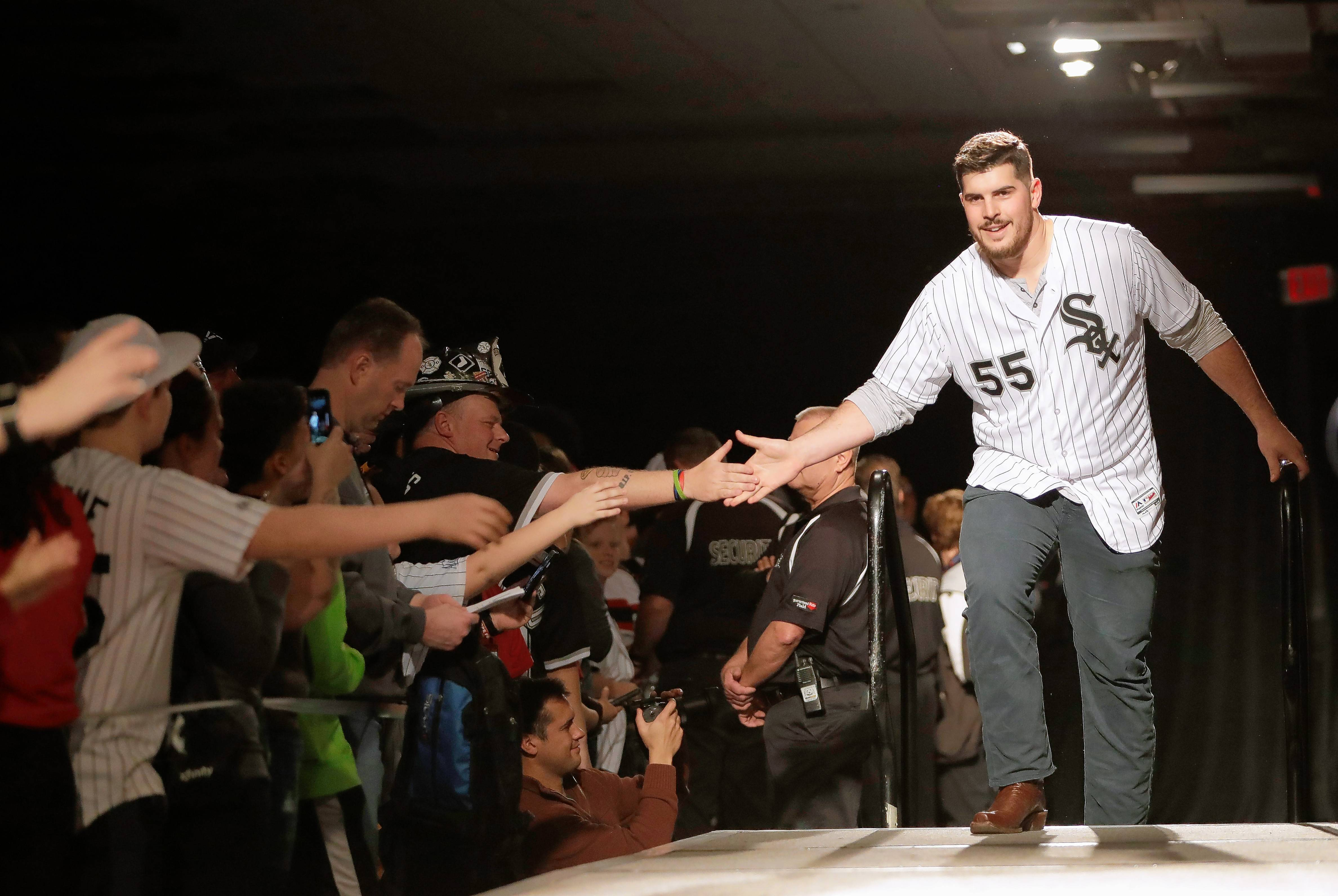 After having arthroscopic shoulder surgery last September, Chicago White Sox starting pitcher Carlos Rodon was given a 6- to 8-month timetable for recovery. Rodon is set to start a throwing program next week.