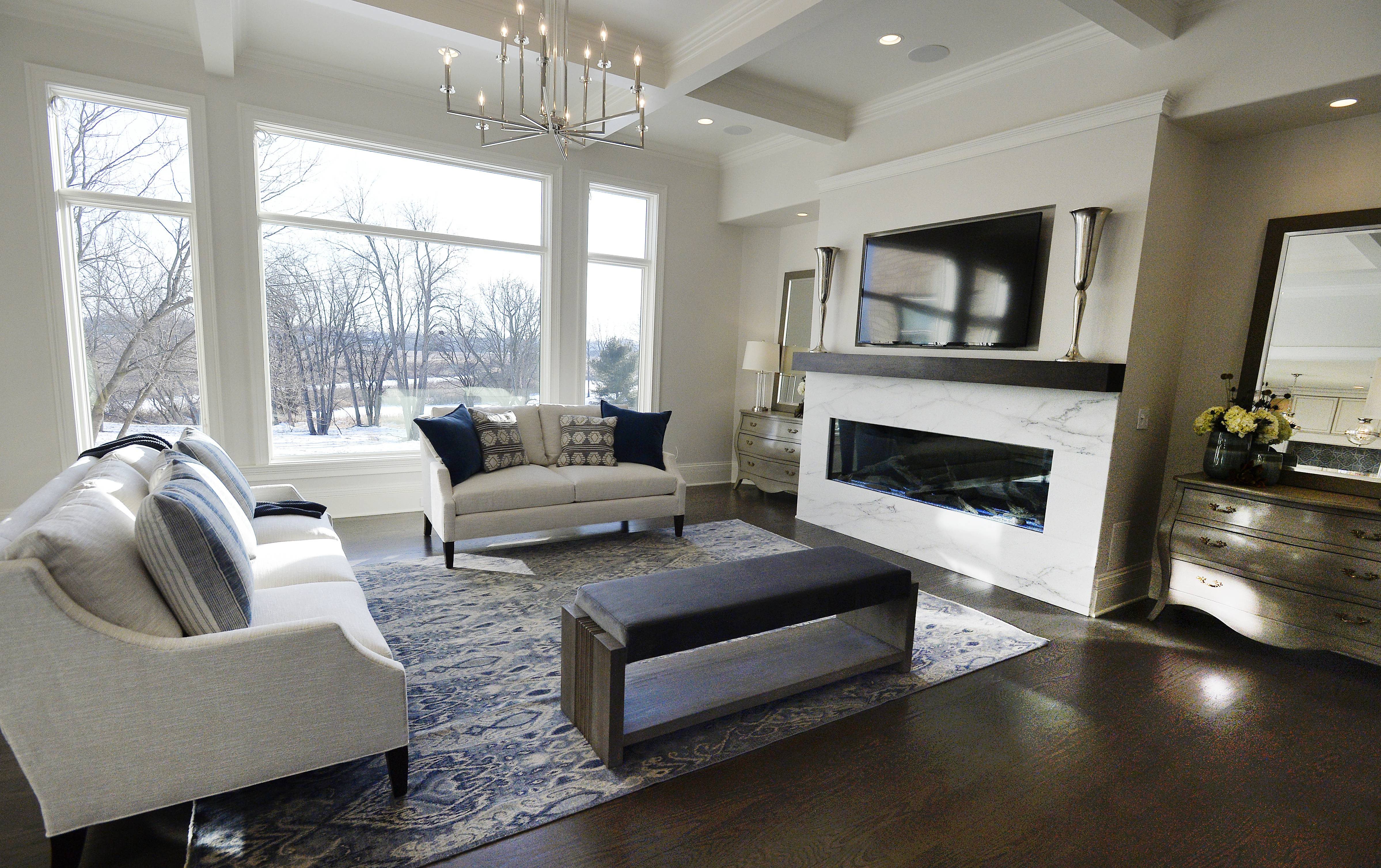 "Not only are the building materials of ""Healthy Home 2018"" carefully sourced, but the furnishings are, as well. This model home, located in Inverness, is open for tour through Feb. 4."