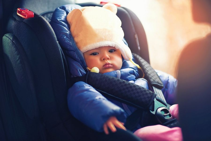 9ffa17c39 Winter coats harmful to children in car seats