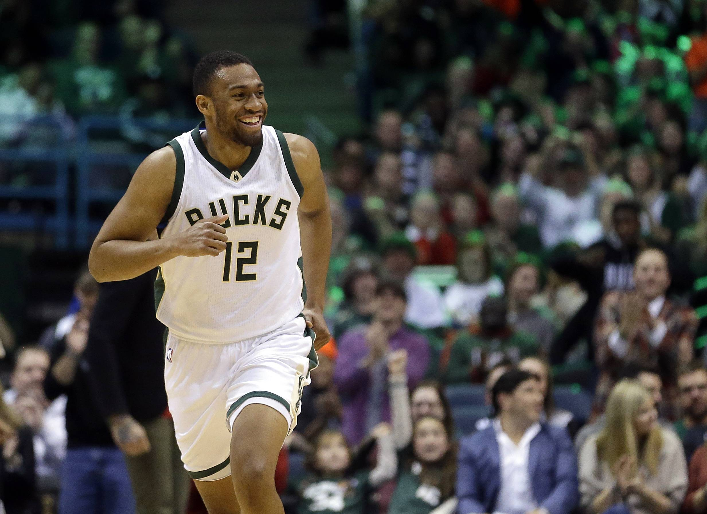 Bucks forward Jabari Parker, a Chicago native, is taking a slower path to recovery than Bulls guard Zach LaVine. The players suffered the same injury last February, but Parker tore the ACL in his left knee for a second time. He isn't set to return until next month.