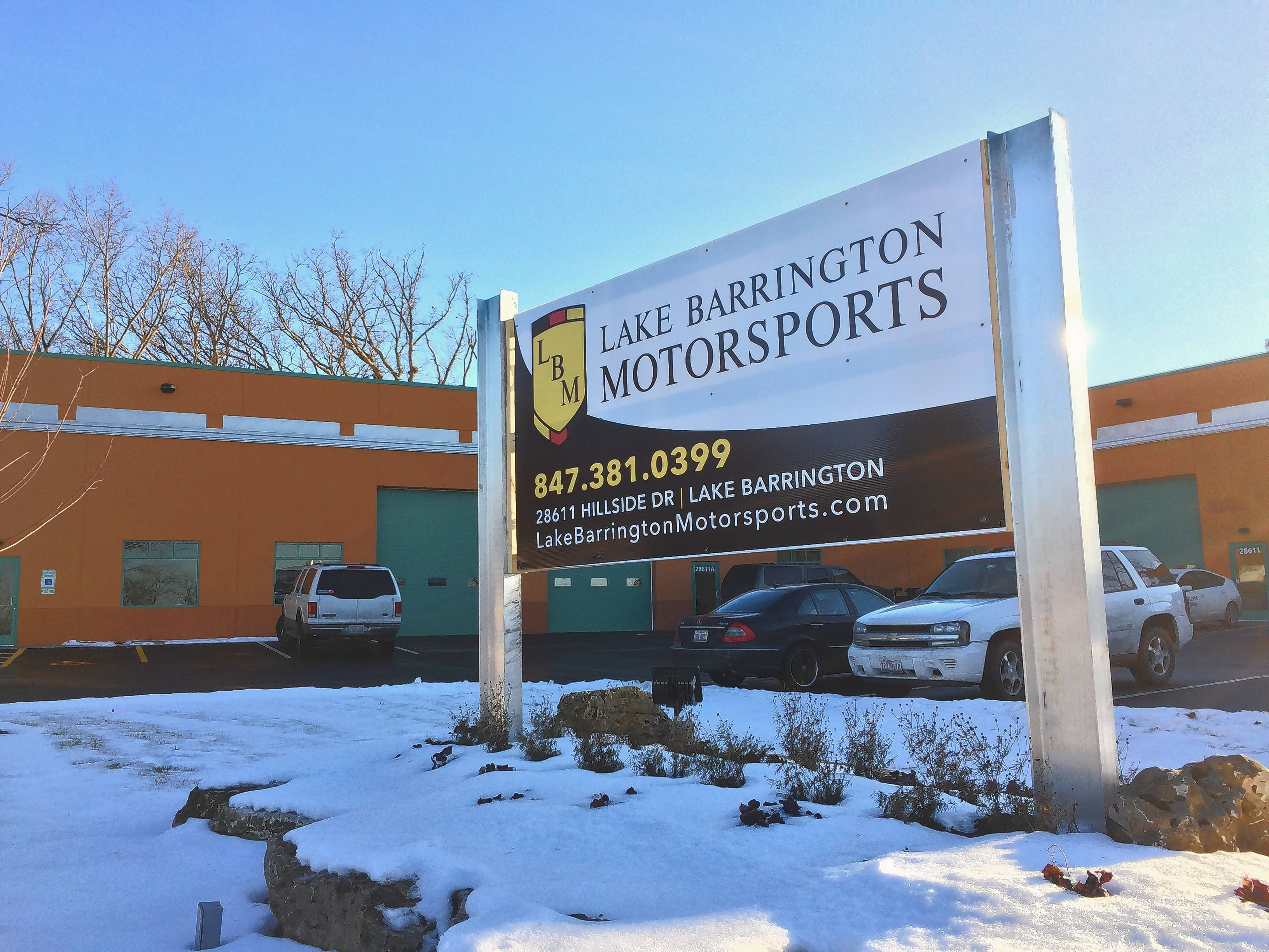 Lake Barrington Motorsports Director of Business Development Kathleen Scott said the business hopes to start selling high-end used cars by early spring. Open since December, Lake Barrington Motorsports is expanding from just repairs and maintenance of luxury cars.
