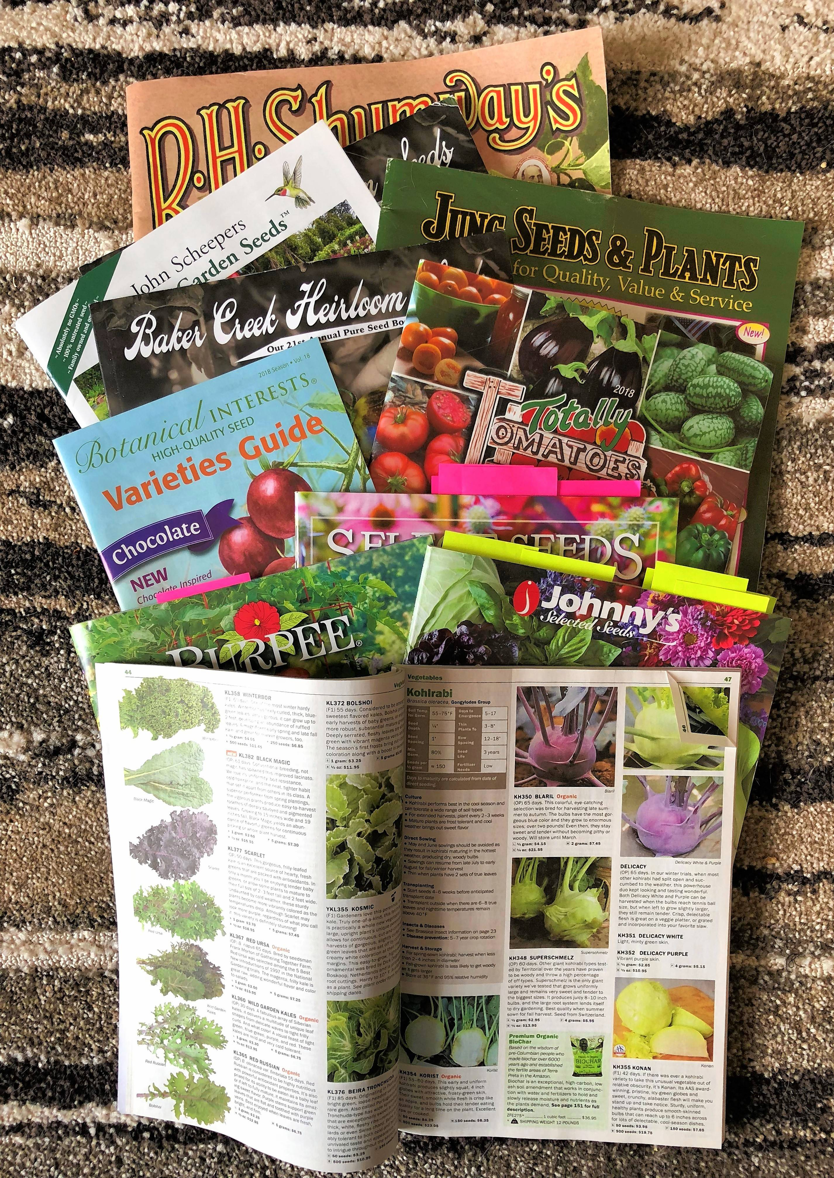 Seed catalogs are easy to read for veteran gardeners, but those new on the scene may have a few questions.