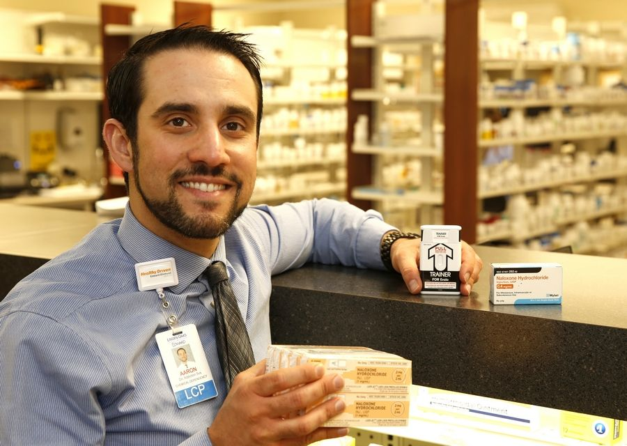 Dr. Aaron Weiner, director of addiction services for Linden Oaks Behavioral Health in Naperville, says he hopes the opioid overdose reversal drug naloxone will become more commonly accepted and used as doctors in the Edward-Elmhurst Health system now are required to prescribe it whenever they dole out high doses of opioid pain medications.