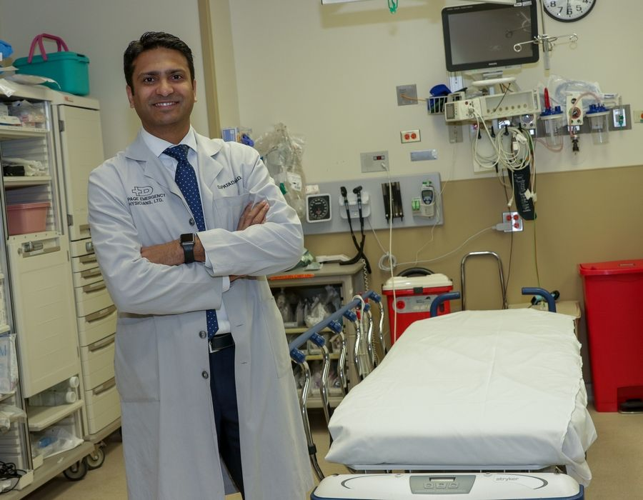Dr. Dipul Patadia, chairman of emergency medicine at Advocate Good Samaritan Hospital in Downers Grove, says patients who have been revived from opioid overdoses are stabilized and visited by an addictions specialist in the emergency department. From there, they can be transferred to the hospital's detox unit or referred to drug treatment programs outside of the hospital.