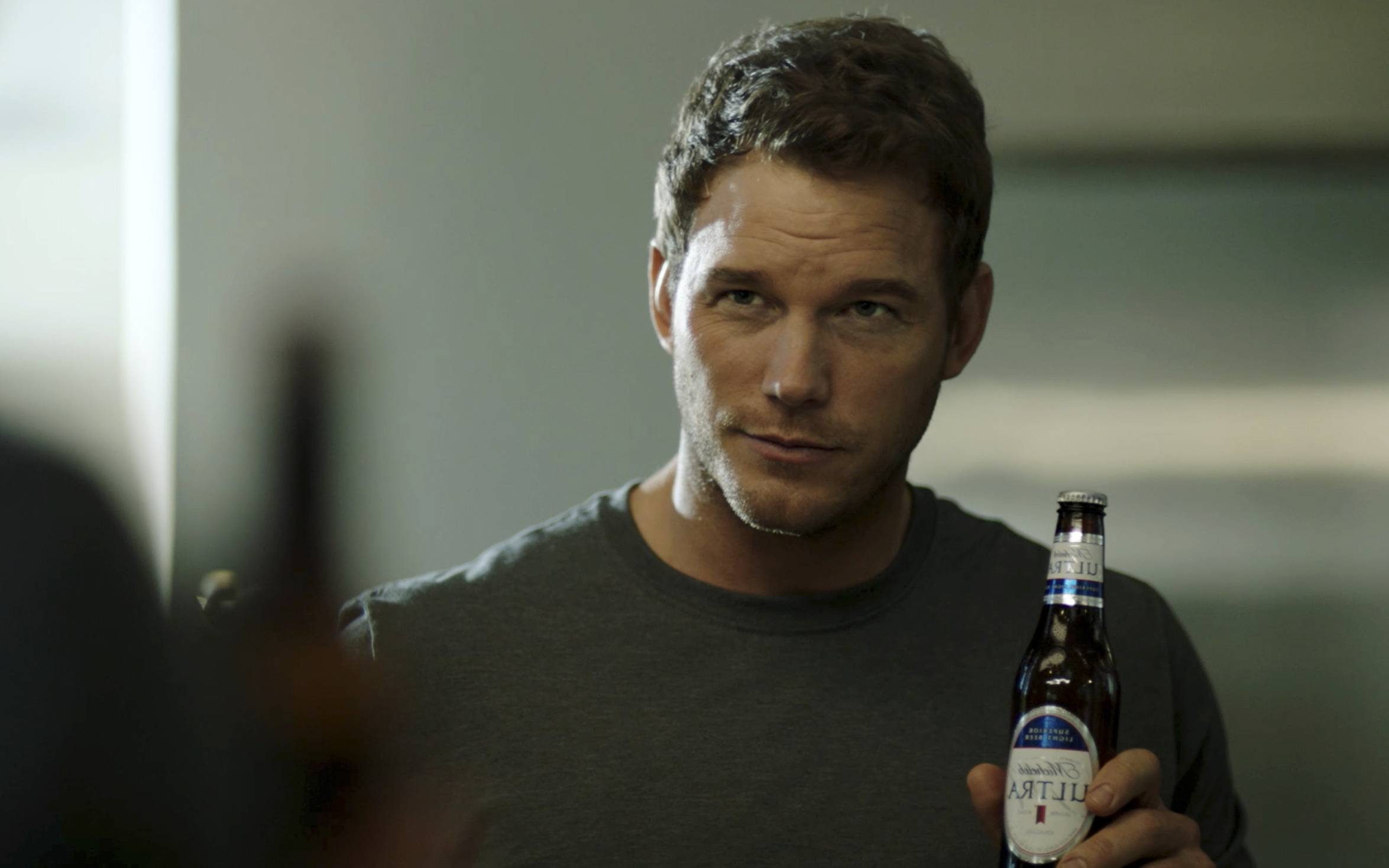 "Chris Pratt, the star of the ""Jurassic World"" and ""Guardians of the Galaxy"" film franchises, will make his advertising debut Super Bowl Sunday in a pair of commercials for Michelob Ultra."