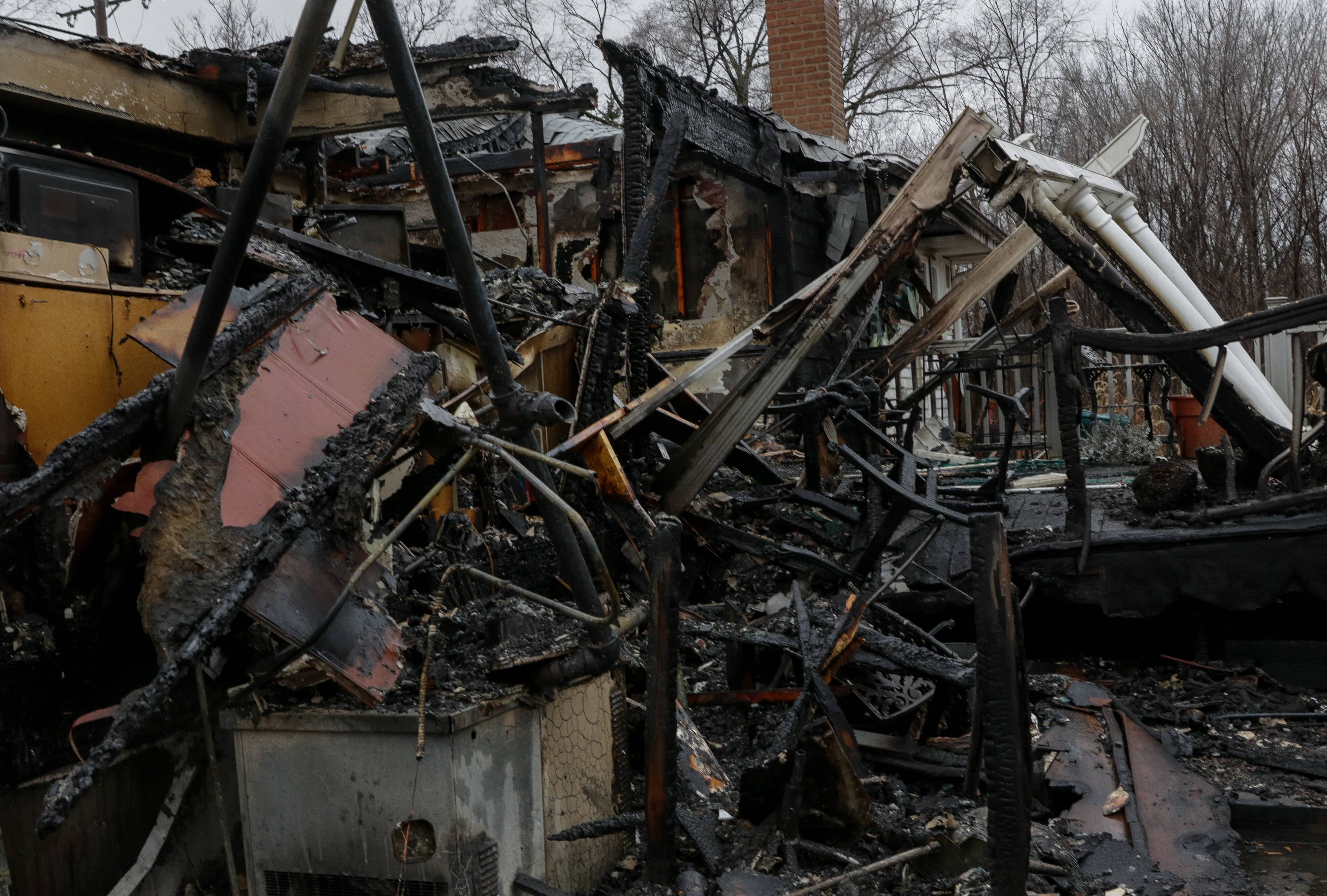 A 76-year-old couple has been identified as victims in the Jan. 22 fire on the 700 block of Ellsworth Avenue in Addison.