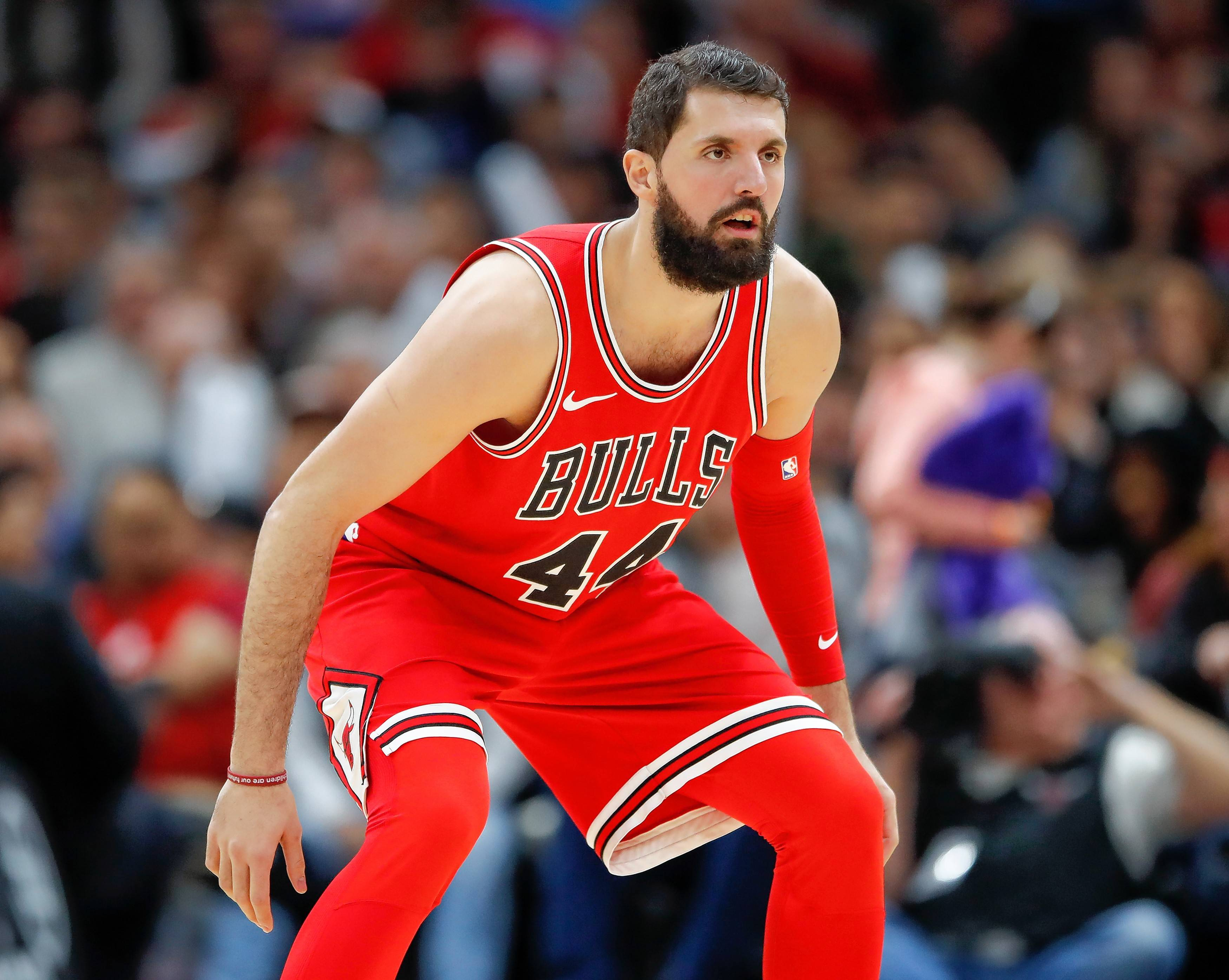 Chicago Bulls forward Nikola Mirotic could be headed to New Orleans if the Bulls and Pelicans can agree on a deal.