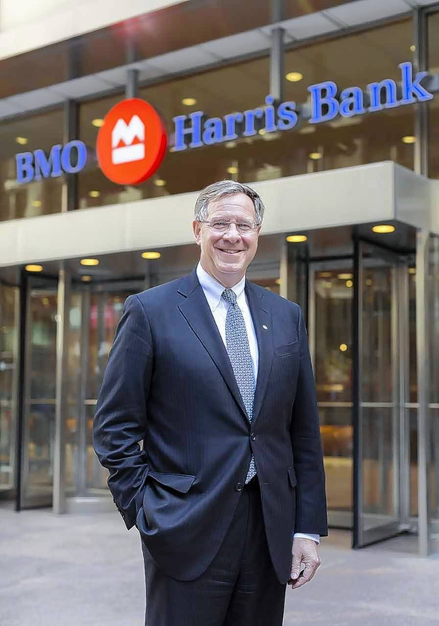David Casper, president and CEO of BMO Harris Bank