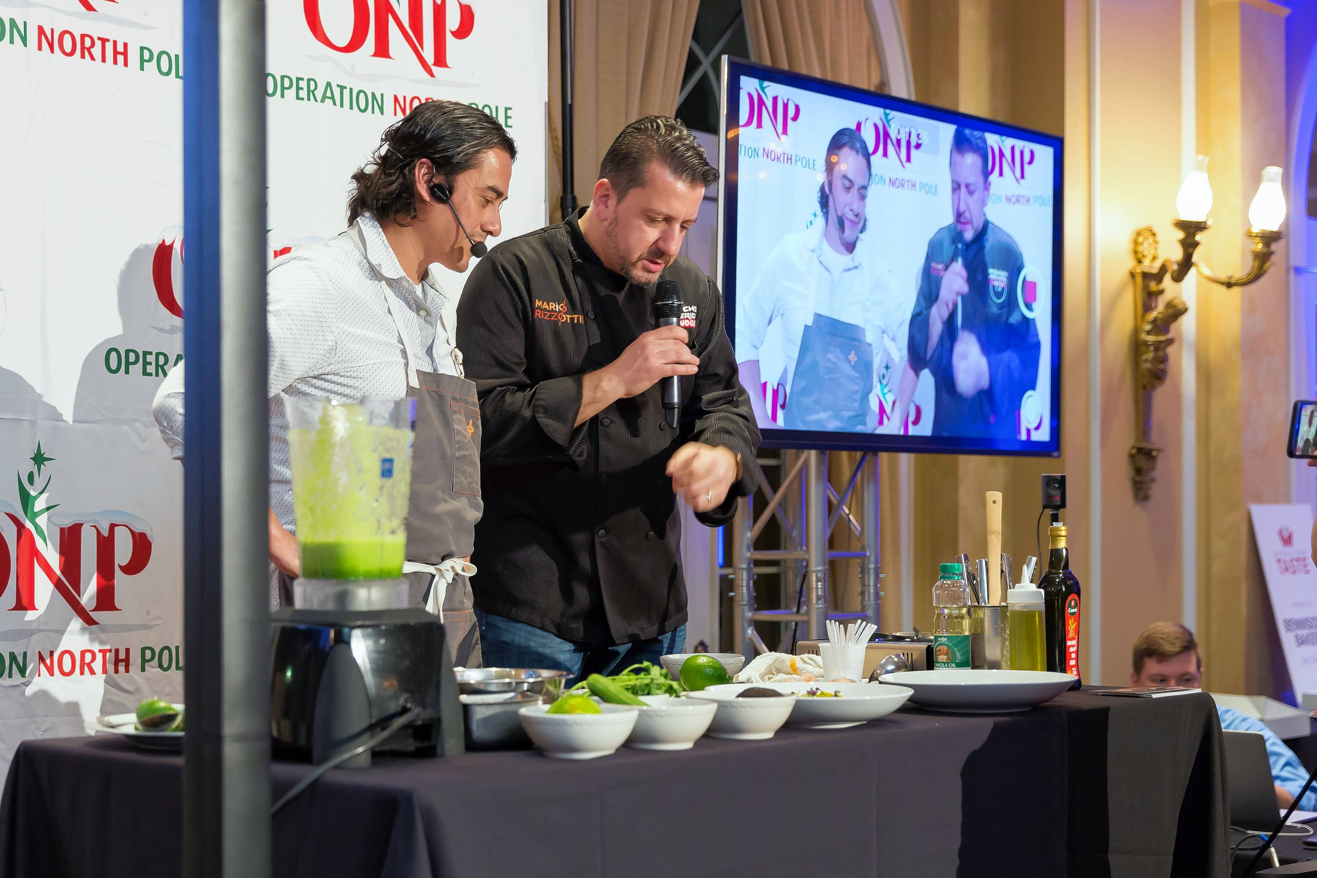 Watch cooking demonstrations at Operation Taste 2018 on Monday, Feb. 5, at Avalon Banquets in Elk Grove Village.