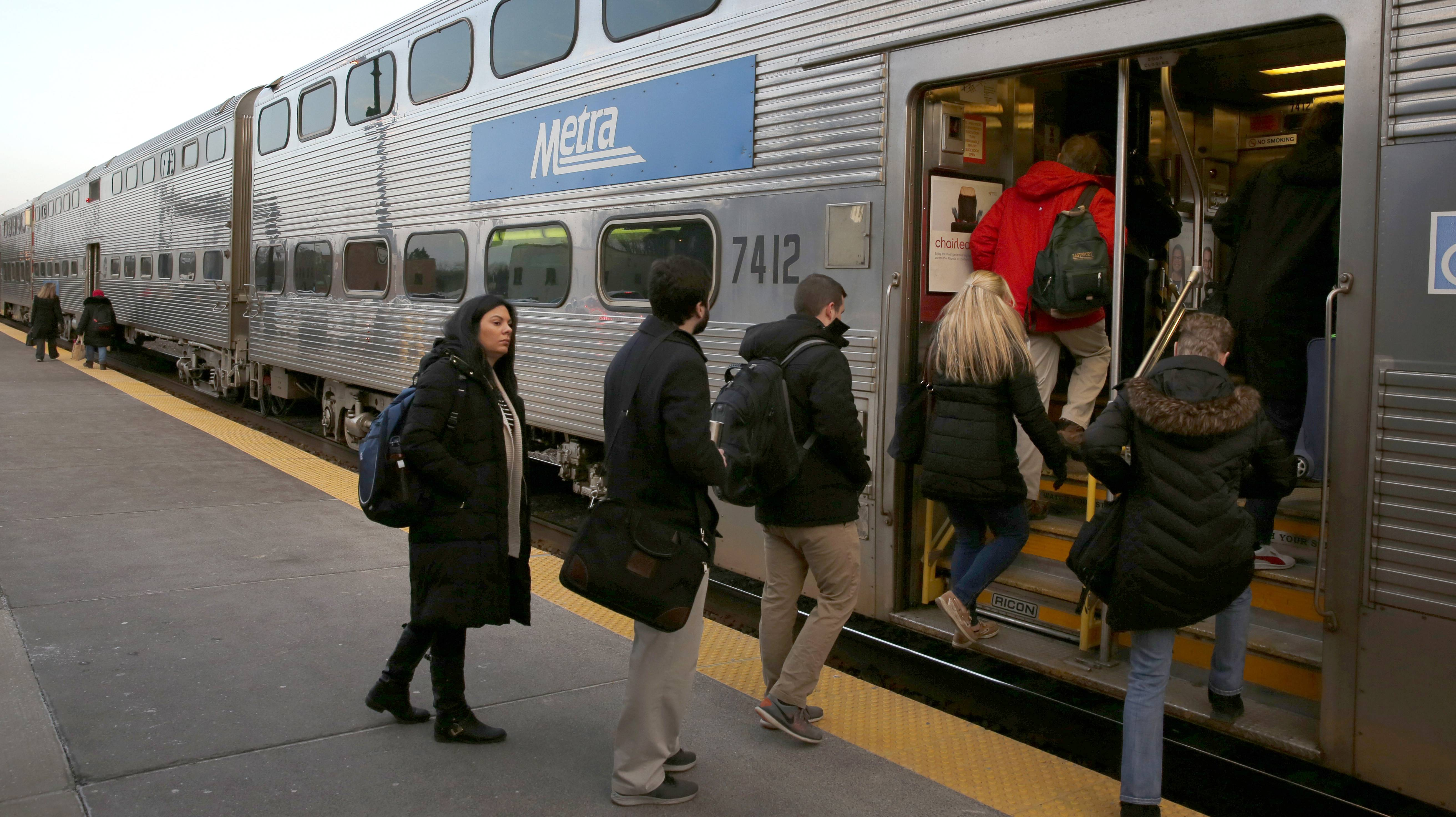 'Crazy.' 'Ridiculous.' Metra riders not happy with another fare hike