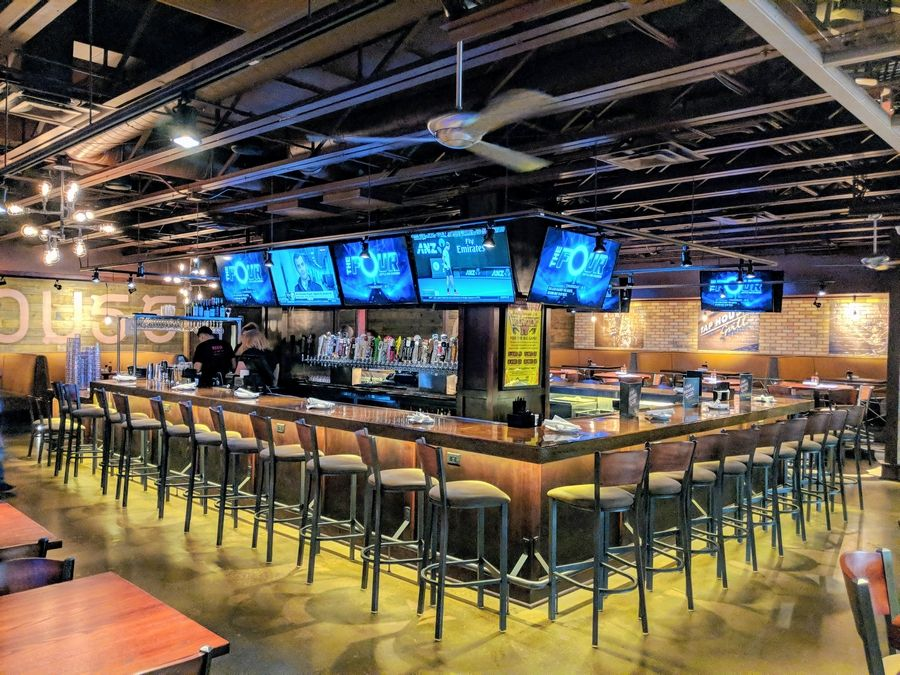 A view of the bar at the new Tap House Grill in Prospect Heights, which opened at the Ramada Plaza Chicago North Shore in late January. The restaurant is hosting a grand opening celebration Thursday, Feb. 8.
