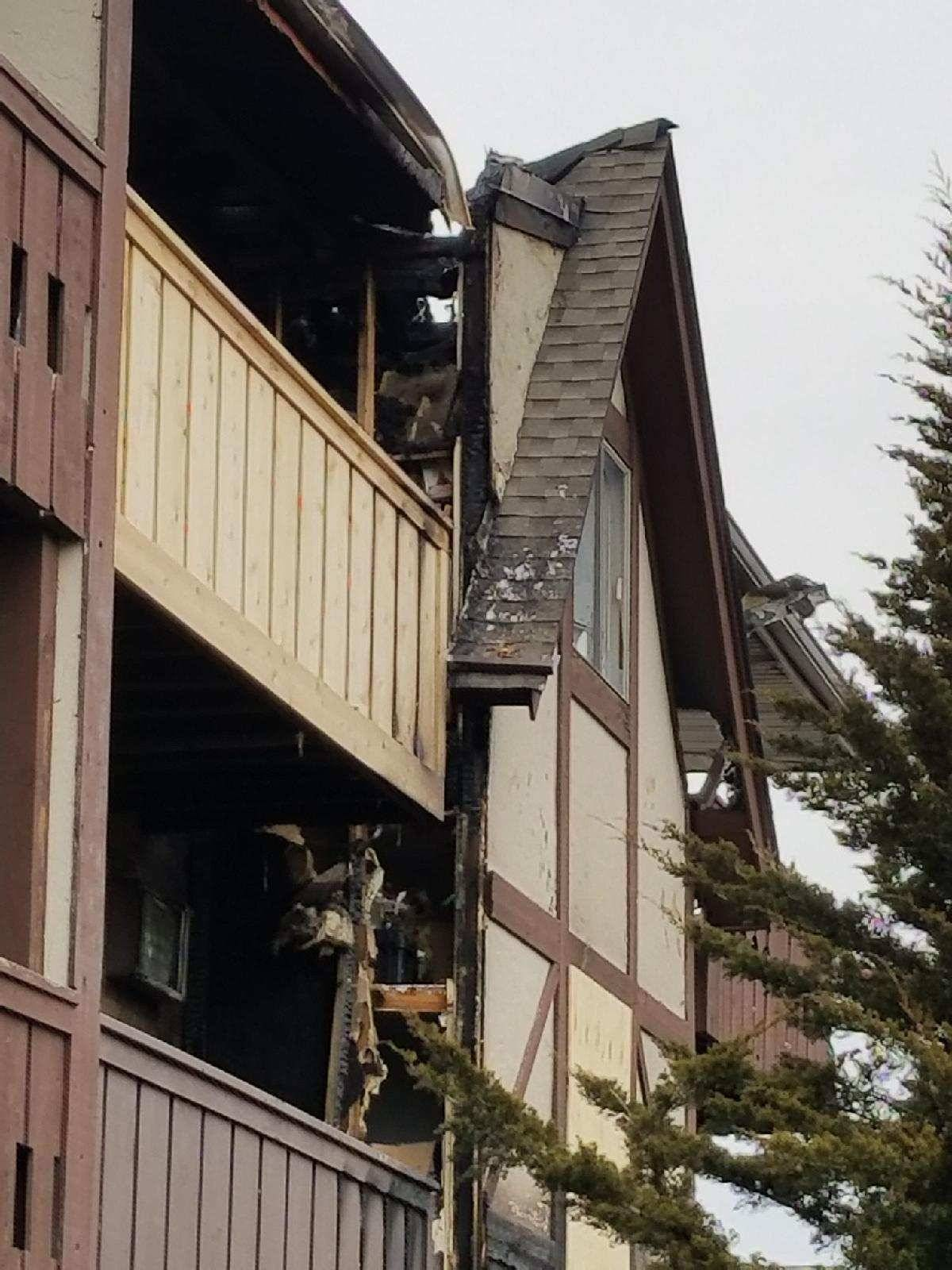 No one was injured in a Wednesday morning fire that displaced residents in 18 apartments at a Westmont complex.