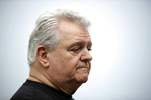 U.S. Rep. Bob Brady of Philadelphia, speaks during a news conference Wednesday, Jan. 31, 2018, in Philadelphia. Brady will not seek another term in Congress, giving up the seat he's held for two decades, his office said Wednesday.