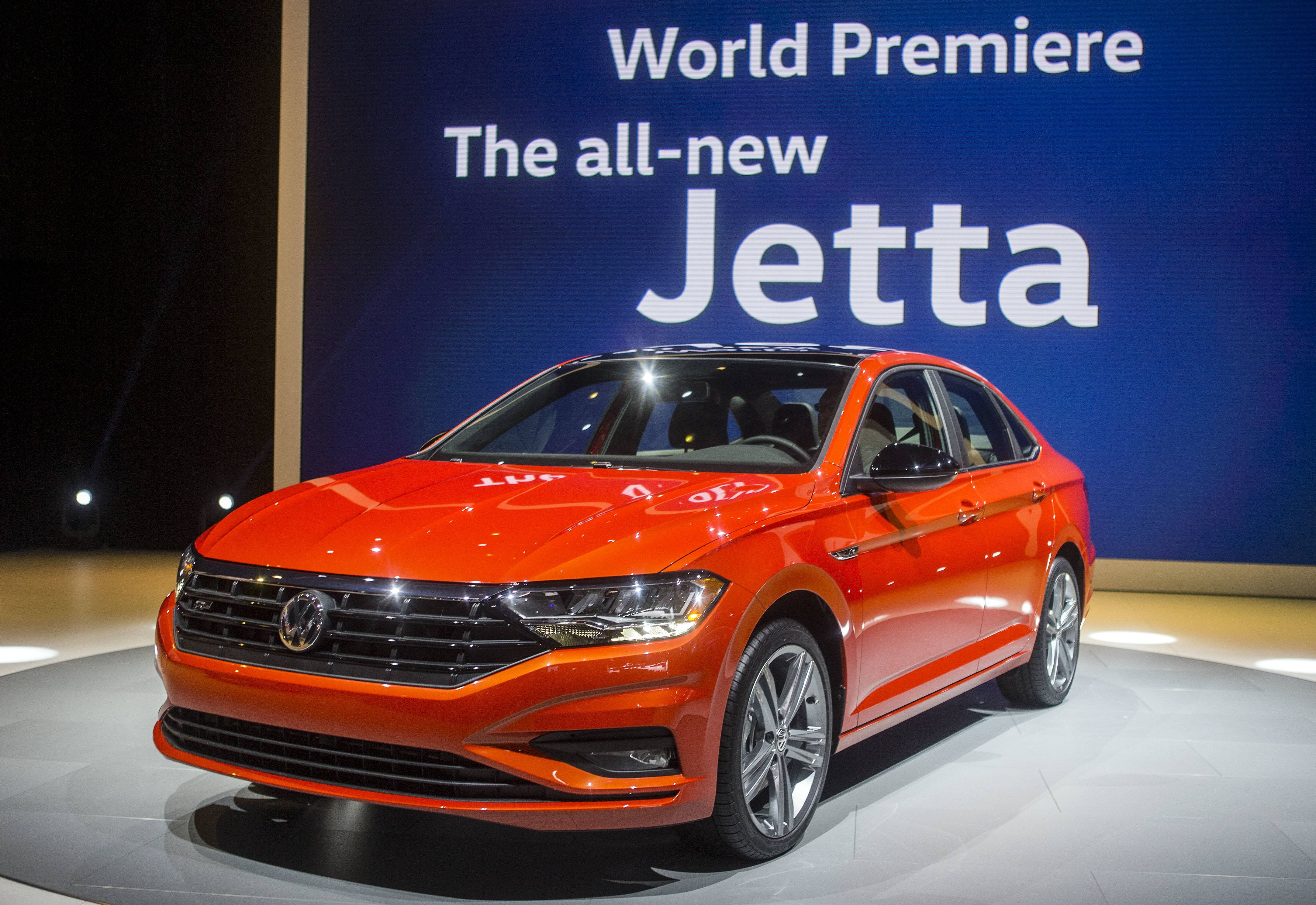 The new Volkswagen Jetta is presented at the North American International Auto Show, which came to a close last week in Detroit.