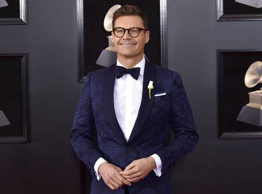 The E! channel says an investigation into a misconduct allegation against Ryan Seacrest found insufficient evidence to support the claims. In a statement Thursday, Feb. 1, the channel said outside counsel conducted the now-ended investigation.