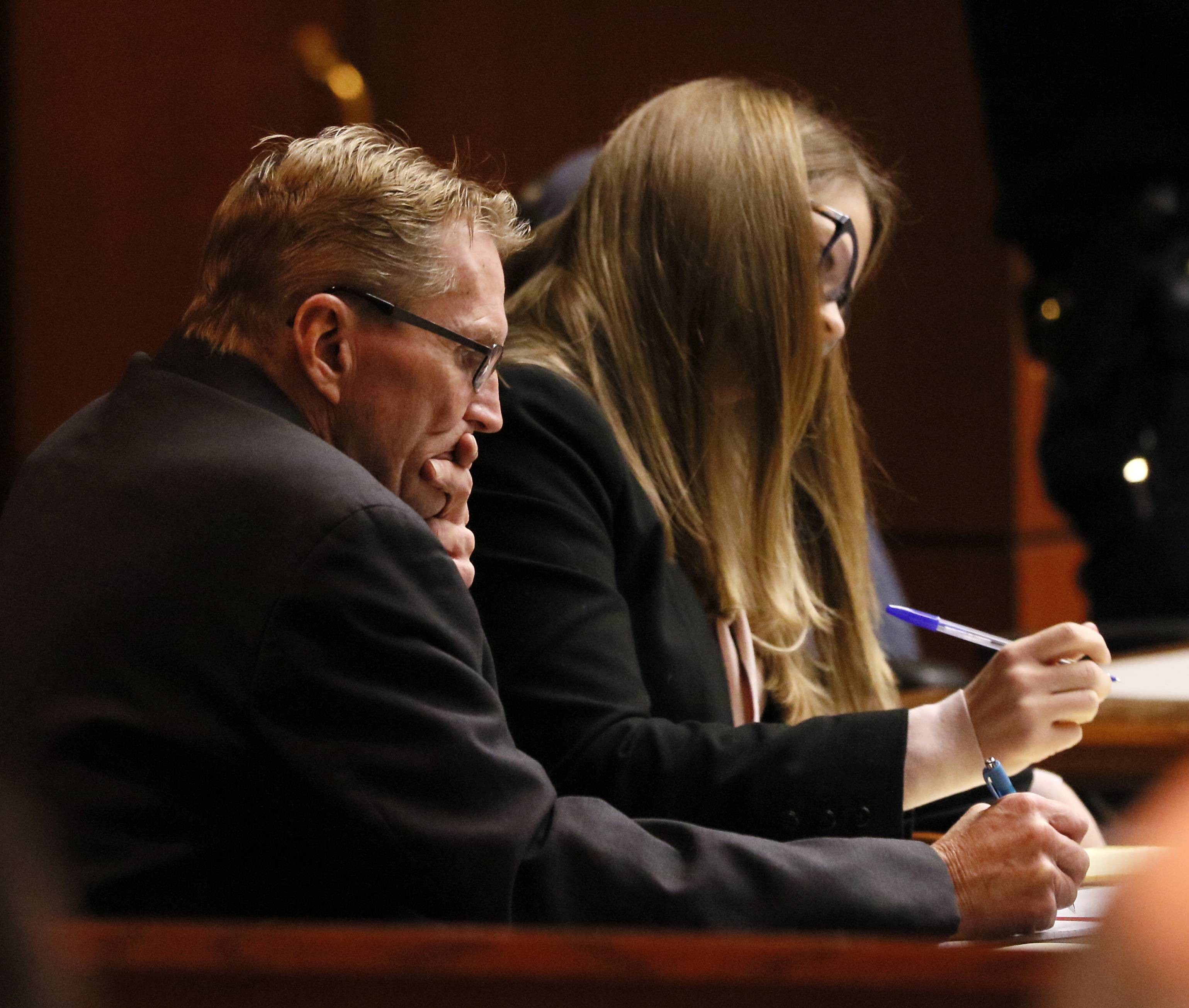 Defense rests in 1995 Naperville murder arson trial