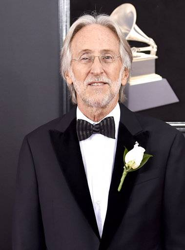President of The Recording Academy Neil Portnow arrives at the 60th annual Grammy Awards at Madison Square Garden on Sunday, Jan. 28, 2018, in New York. (Photo by Evan Agostini/Invision/AP)