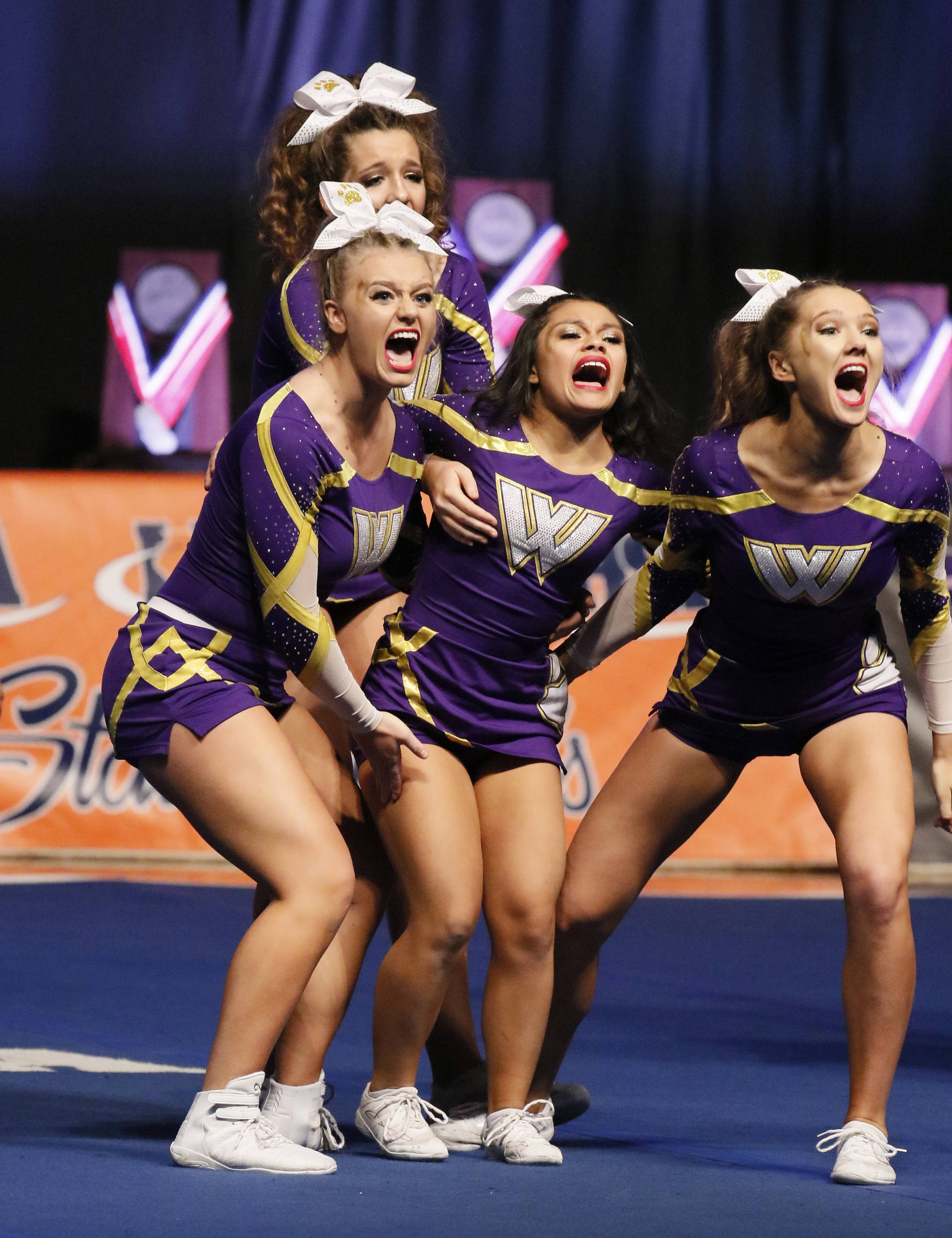 Images: See Friday's state finals of competitive cheerleading