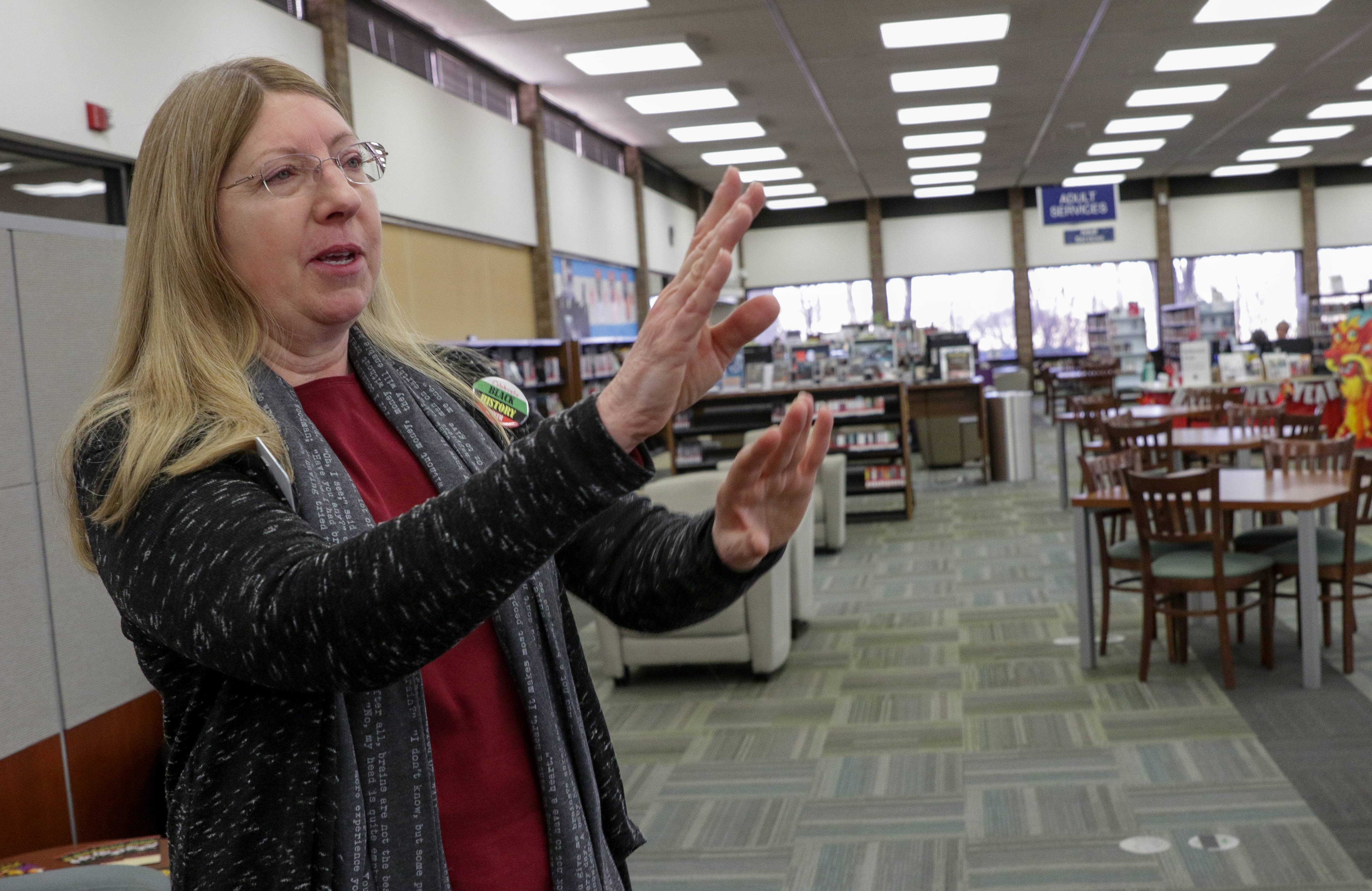 At 1:30 p.m. Feb. 18, Carol Stream Public Library Director Susan Westgate will host a forum on the proposed renovation.