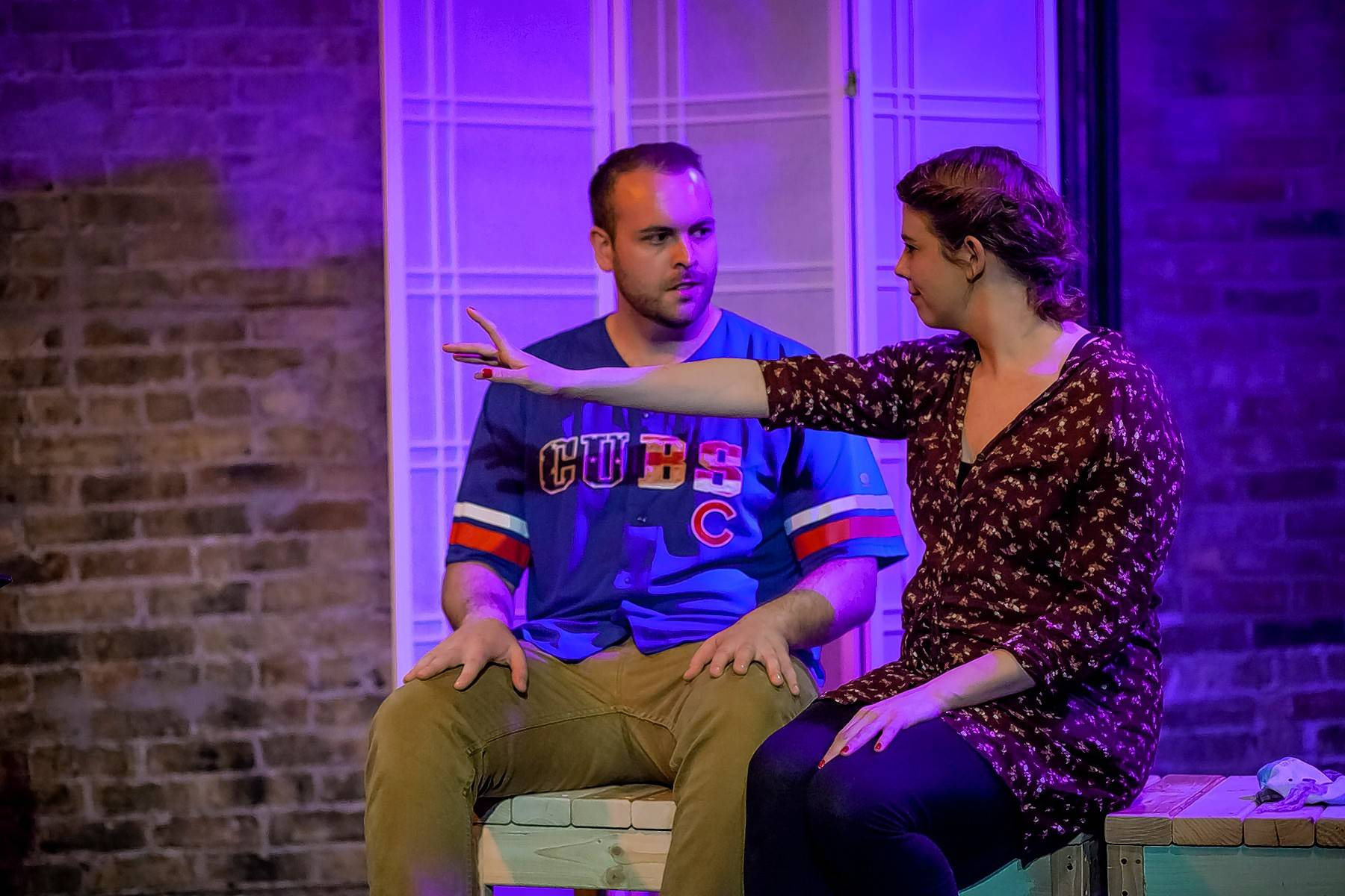 "Matt Lamson and Emma Palizza starred in the 2017 production of ""Musical Therapy"" at Gorilla Tango Theatre. The musical, with some new cast members, will be featured at the Chicago Musical Theatre Festival."