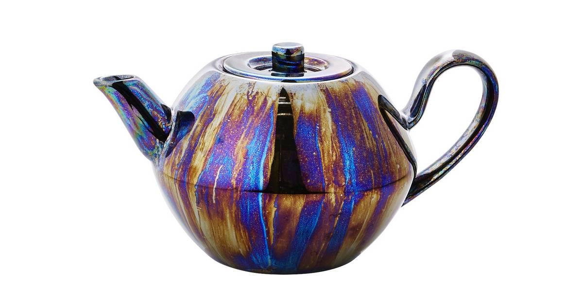 how to make a purple glaze for metallics