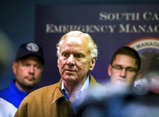 South Carolina Governor Henry McMaster speaks at a press conference following a crash between an Amtrak train and CSX freight train in Cayce, SC, near Charleston Highway and Pine Ridge Road around 2:35 a.m. Sunday, Feb. 4, 20. At least two people were killed and at least 70 people were injured.