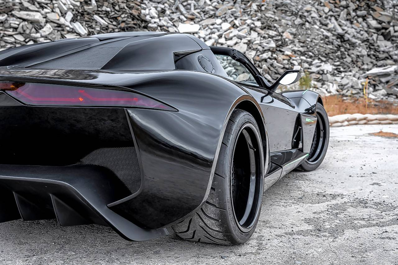 Only five of these Blackbird edition Beast Alpha X sports cars are being built.