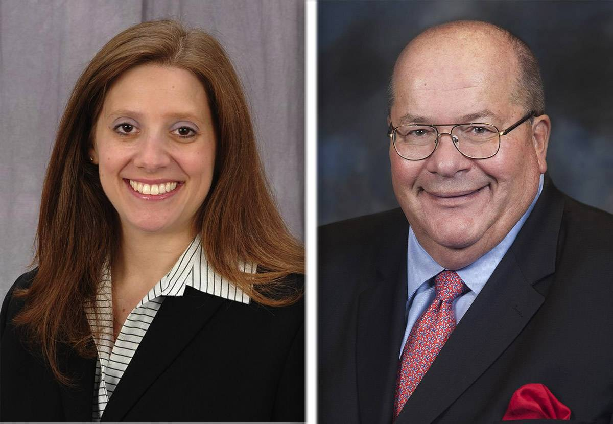 Jeralyn Atleson and Charles Bartels are candidates for Lake County Board's 10th District seat in the 2018 election.