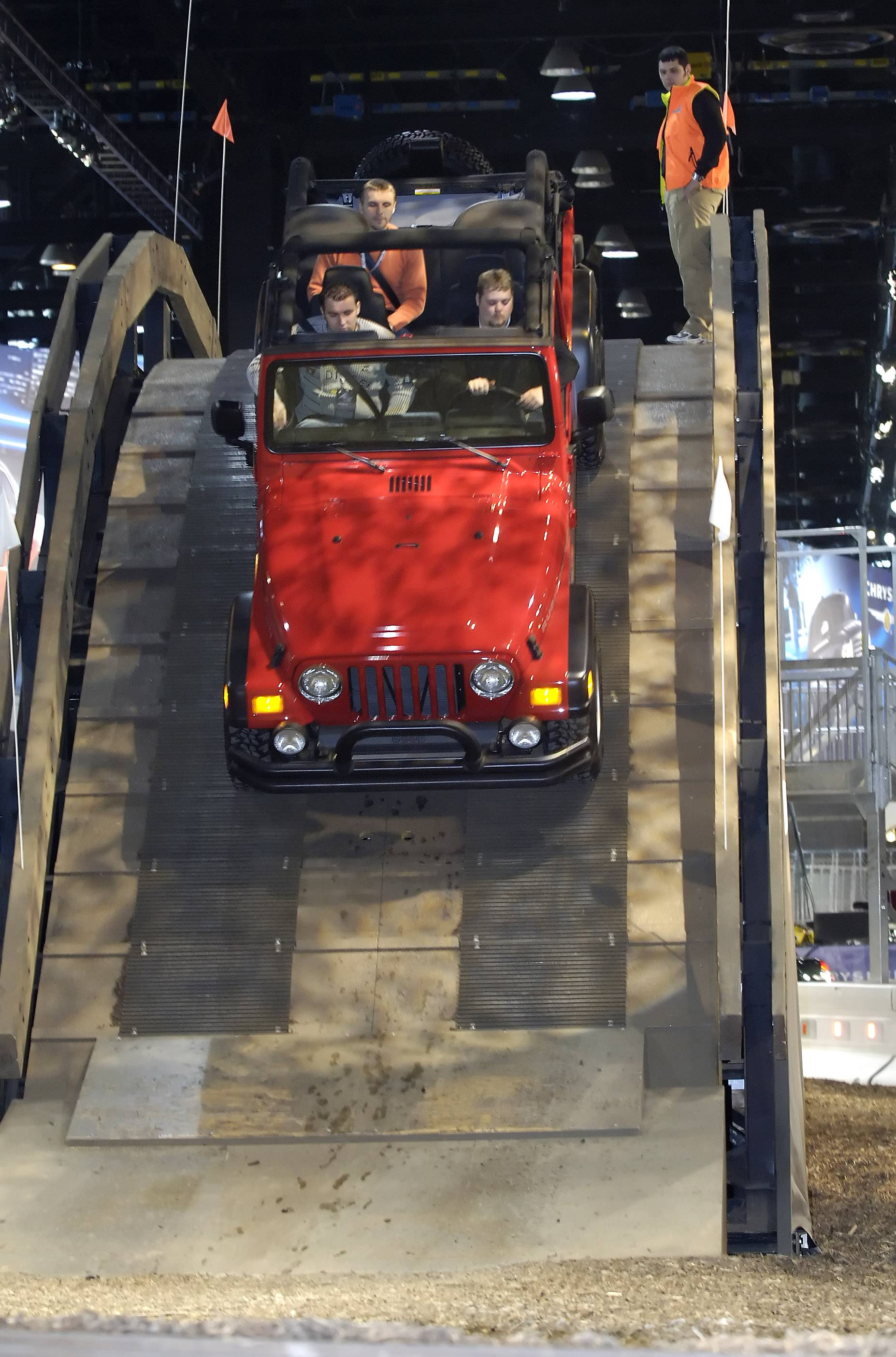 Test tracks and interactive displays add to the fun at the Chicago Auto Show coming Saturday.
