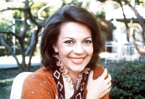 "FILE - A Dec. 1, 1981 file photo shows actress Natalie Wood. Investigators are now calling 87-year-old actor Robert Wagner a ""person of interest"" in the 1981 death of his wife Natalie Wood. Mystery has swirled around Wood's death. It was declared an accident but police reopened the case in 2011 to see whether Wagner or anyone else played a role."