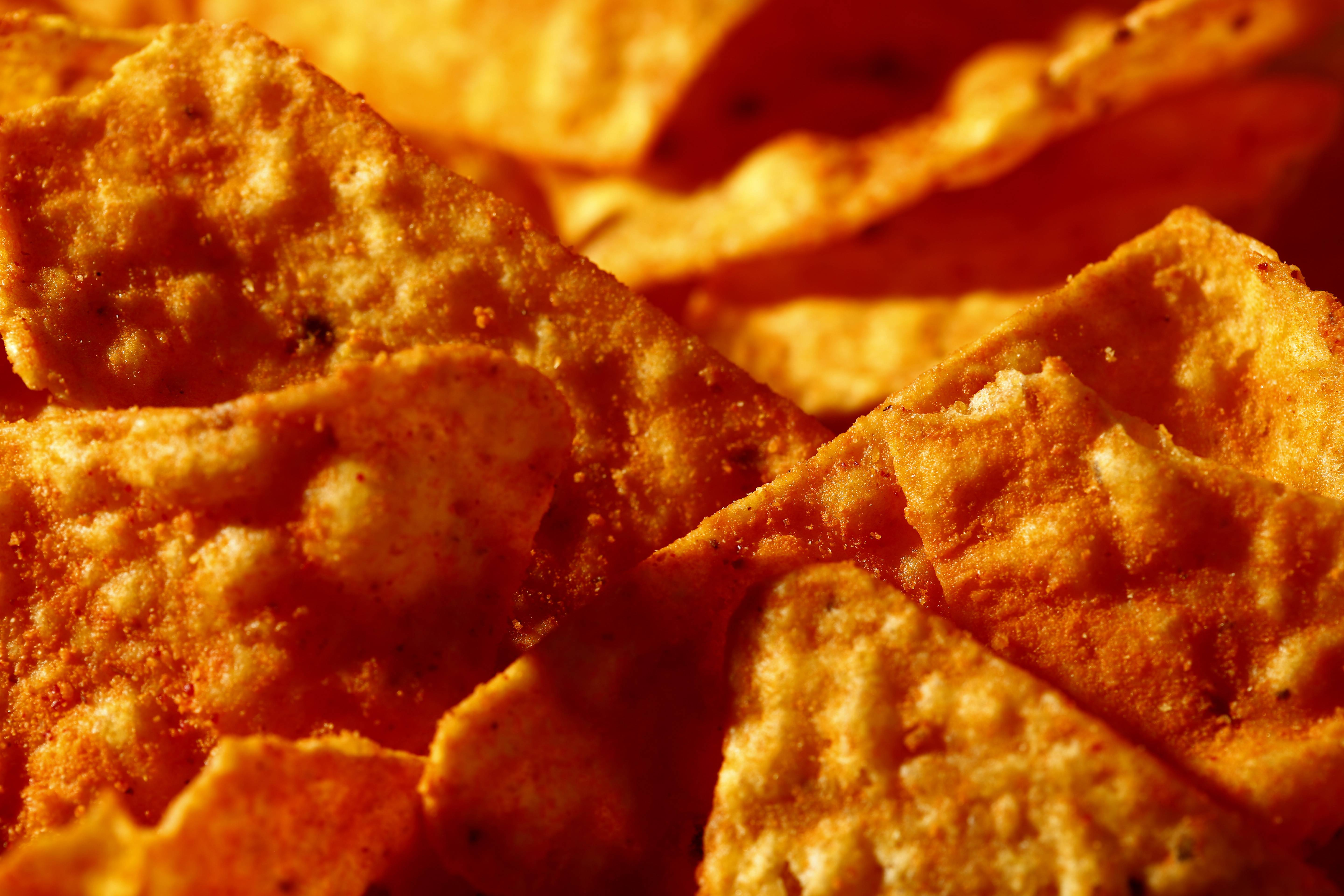 "Don't expect to see ""lady Doritos"" on store shelves. The company that makes the cheesy chips said Tuesday that it's not developing a line of Doritos designed specifically for women, despite widespread online speculation that it was."