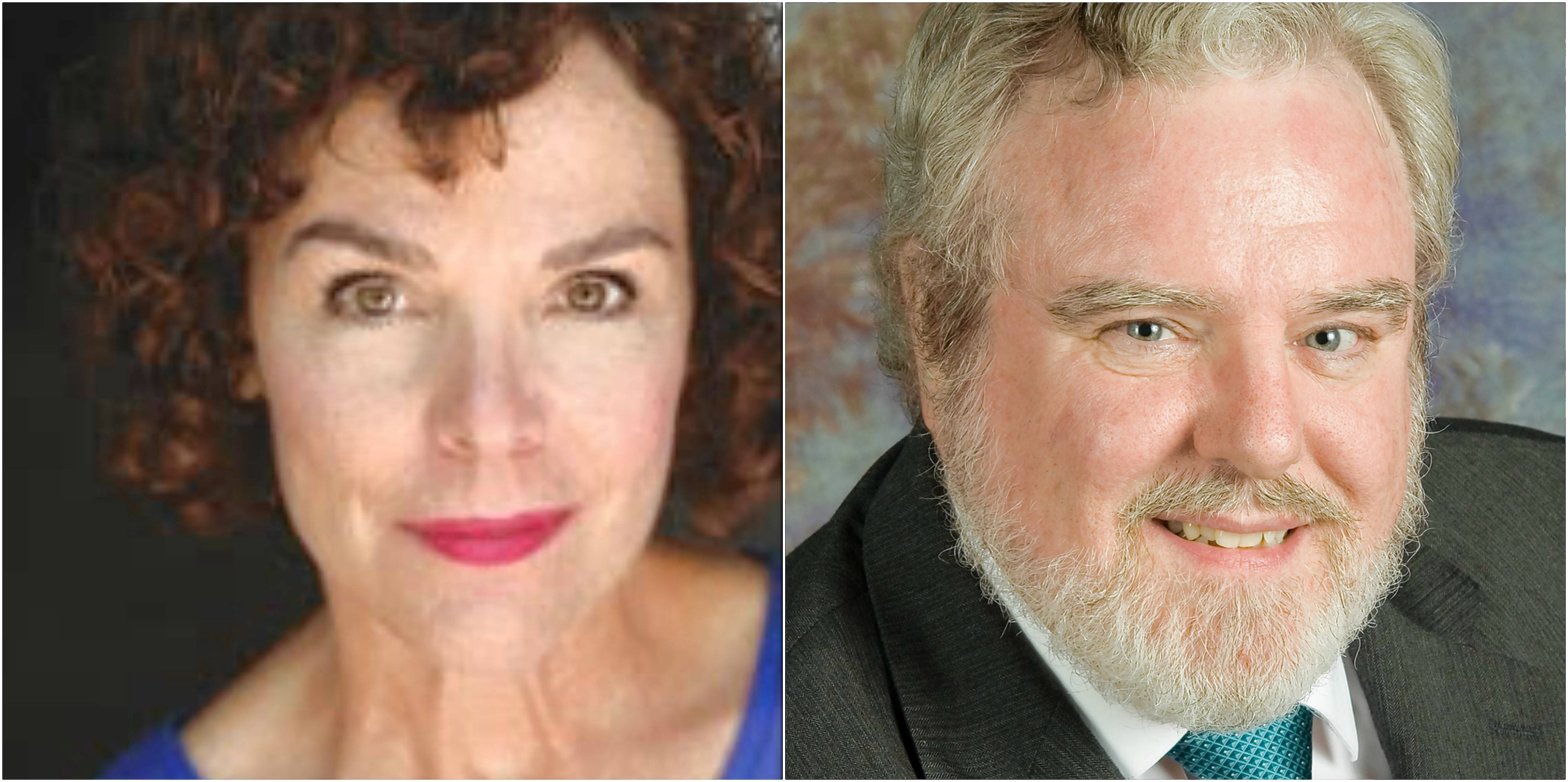 "Shannon Mayhall and Frank Gaughan star in Williams Street Repertory's revival of ""Love Letters."""