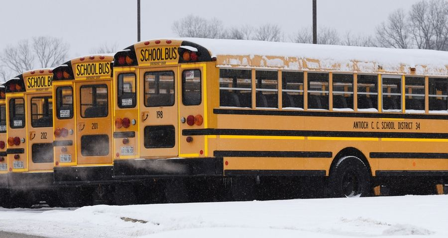 Antioch Elementary District 34 officials aren't saying much regarding a bus driver who is said to be on unpaid leave.