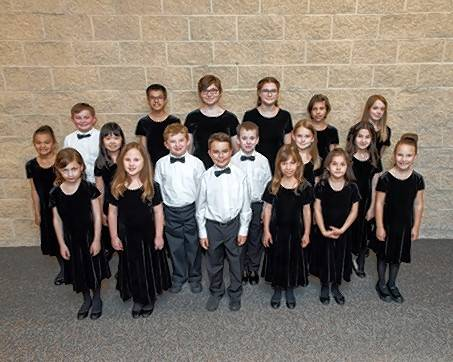 The Elgin Master Chorale Children's Chorus will perform in the lobby before the Elgin Symphony Orchestra concert on Sunday, Feb. 11.