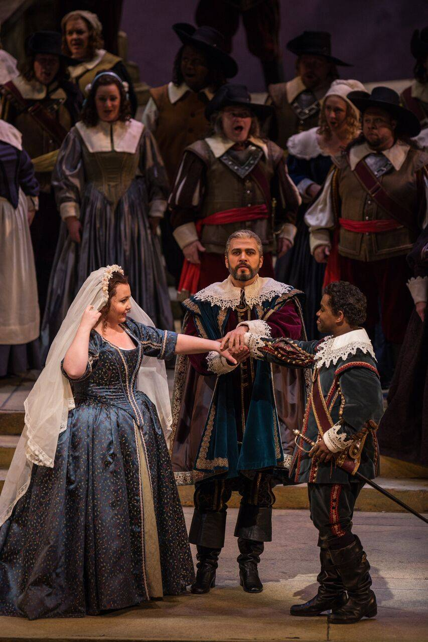 "A beautiful production of ""I Puritani"" successfully opened Feb. 4 and will run through Feb. 28."