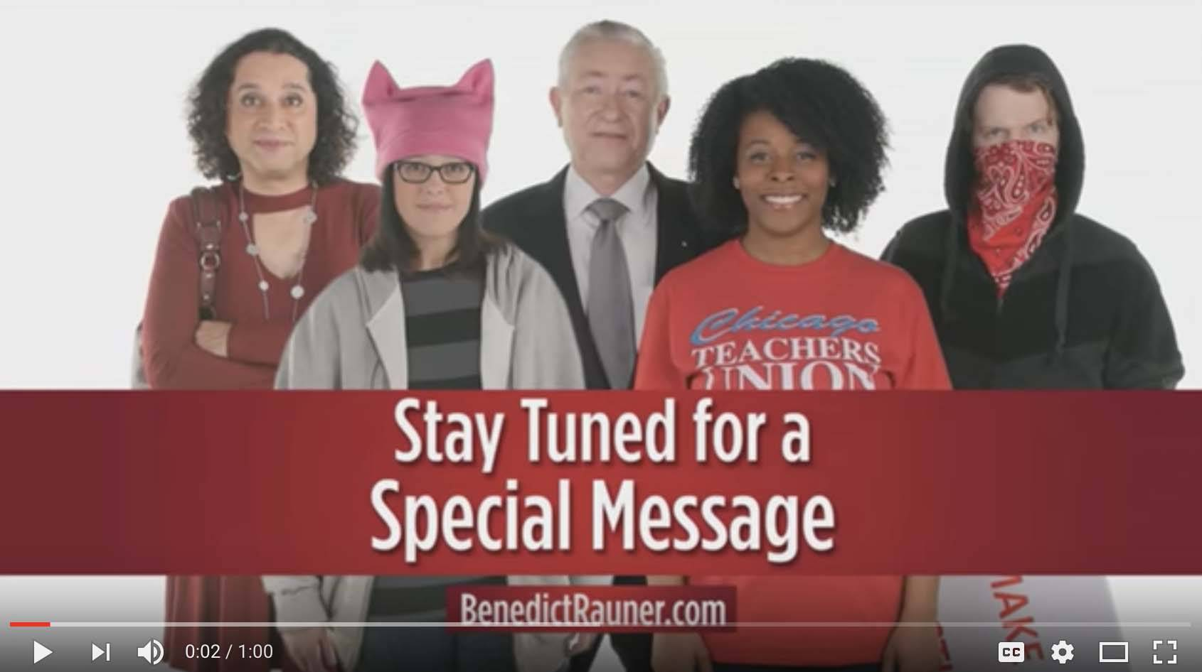 Republican candidate for governor Jeanne Ives, of Wheaton, is standing behind a commercial that focuses on transgender people, women who have abortions, undocumented immigrants and other people in Illinois.