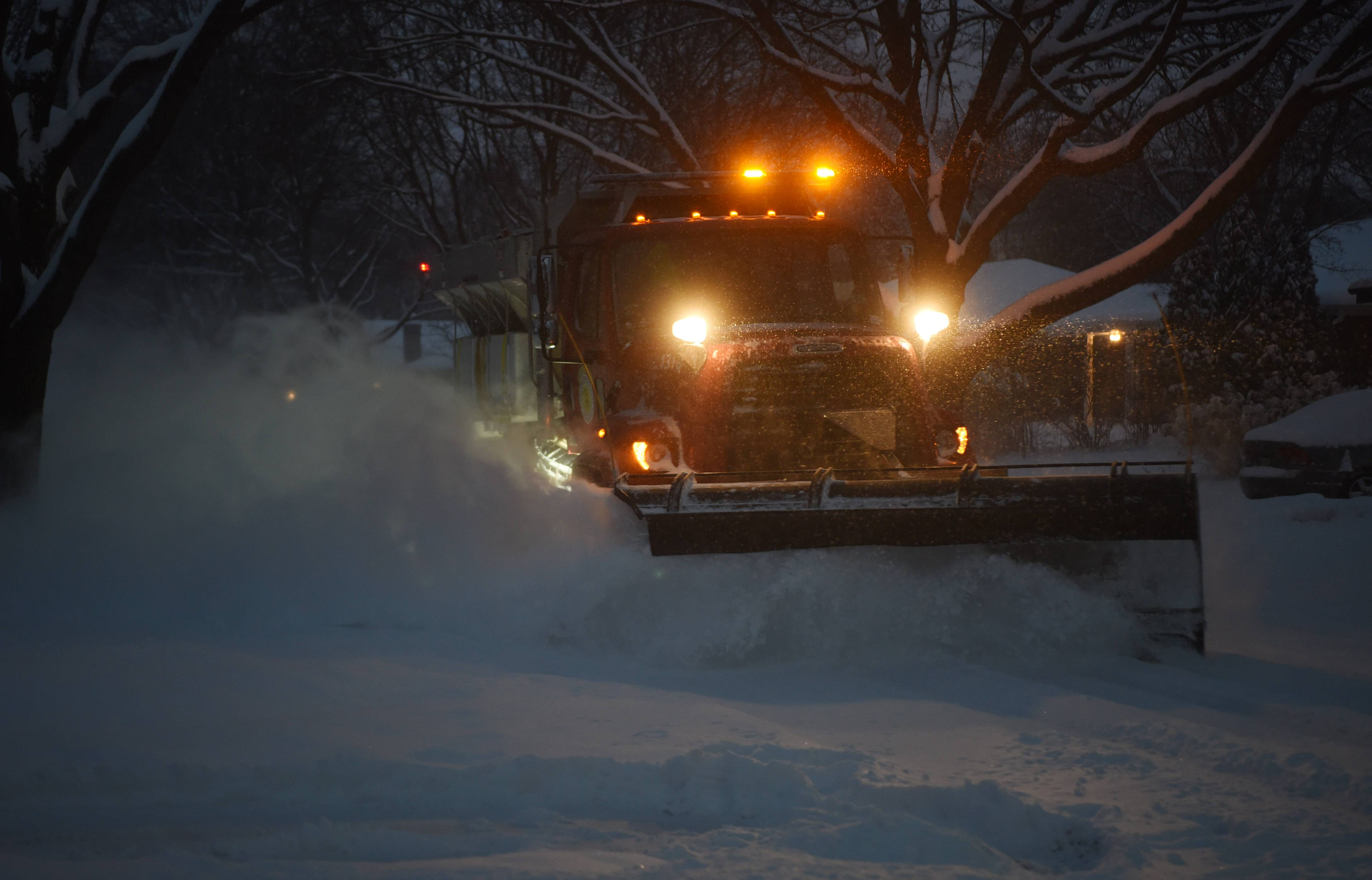 One fatality in suburbs linked to snowfall