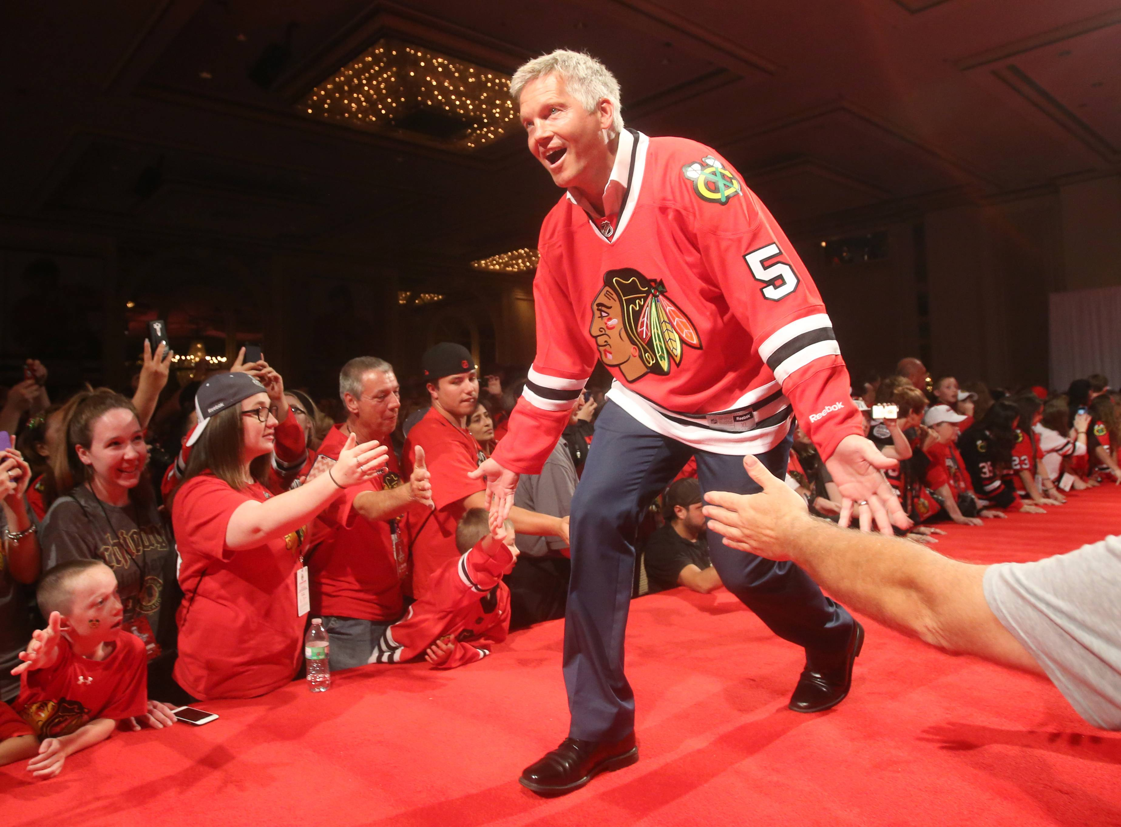 Broadcaster Steve Konroyd says one frugal decision he made at the airport when he was as a Blackhawks player eventually cost him about $200.