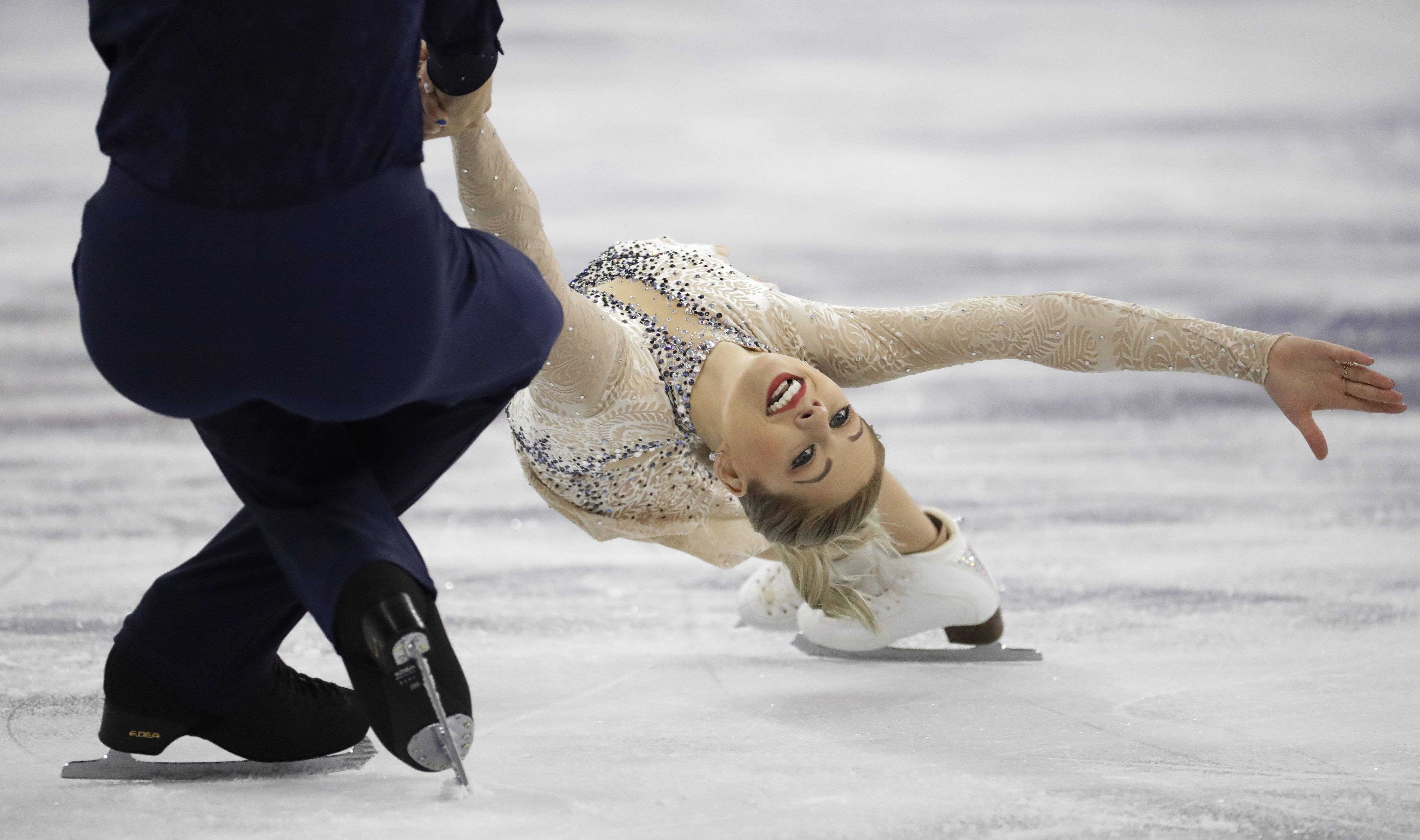 Think figure skating isn't a sport? Tell that to Addison native Alexa Scimeca Knierim and Chris Knierim.