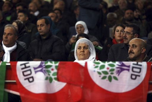 Turkey's pro-Kurdish opposition party elects new leaders