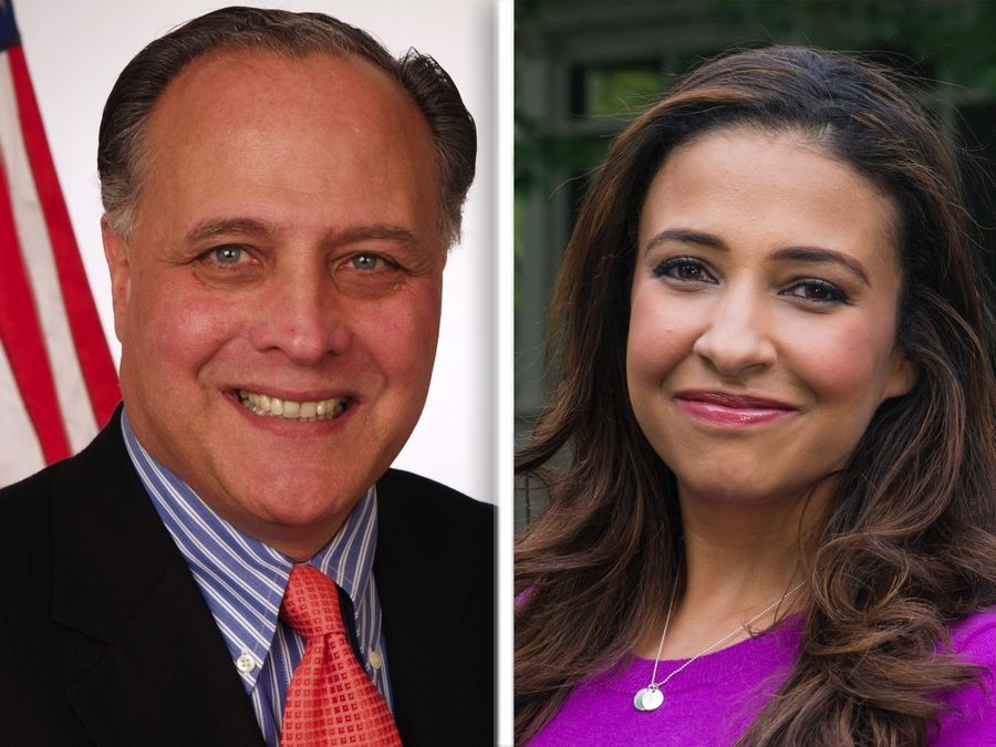 Gary Grasso and Erika Harold are Republican candidates for Illinois attorney general.