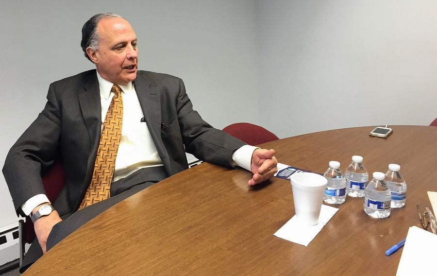 Republican Gary Grasso discusses his candidacy for Illinois attorney general with the Daily Herald in advance of the March 20 primary.