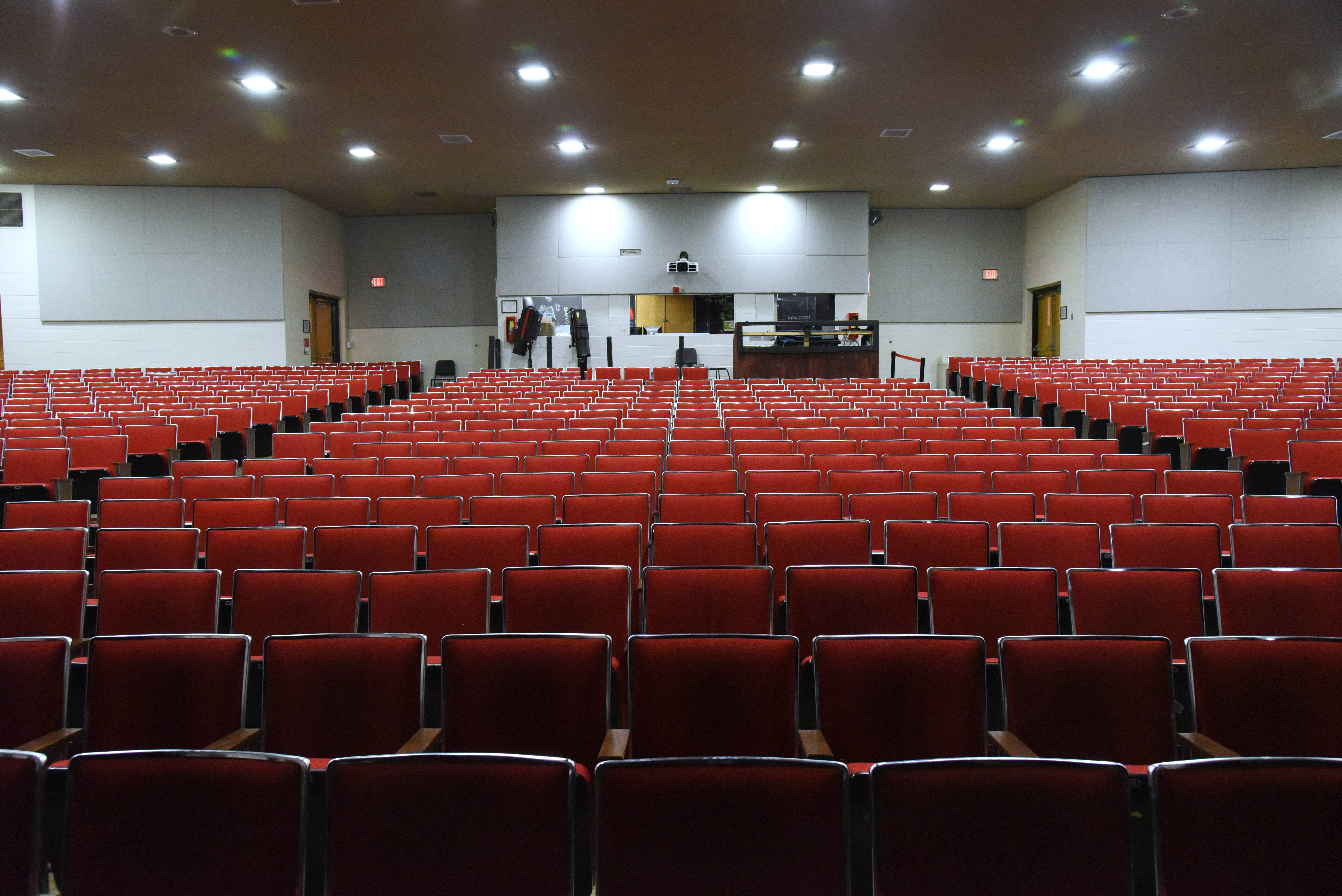 A new auditorium would be part of a facility improvement plan at Mundelein High School.