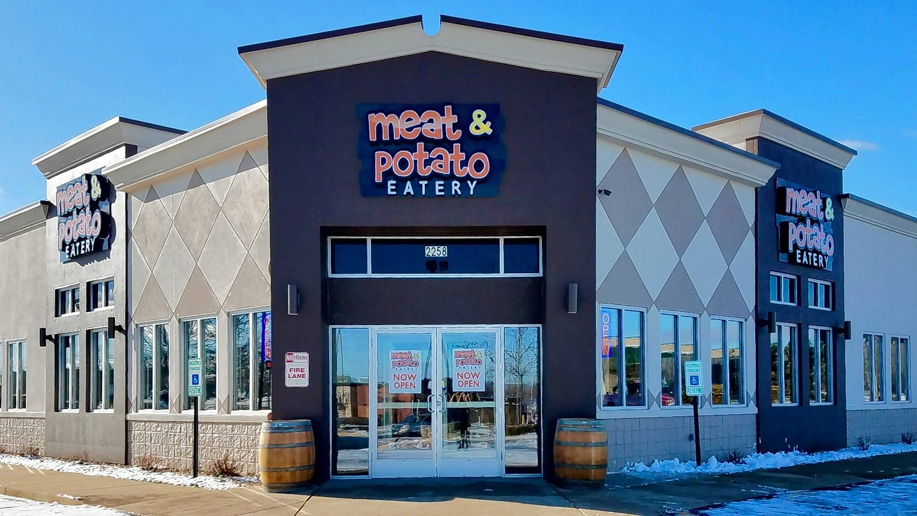 Meat & Potato Eatery is building its next location in Lake Zurich. This one opened recently in Carpentersville.