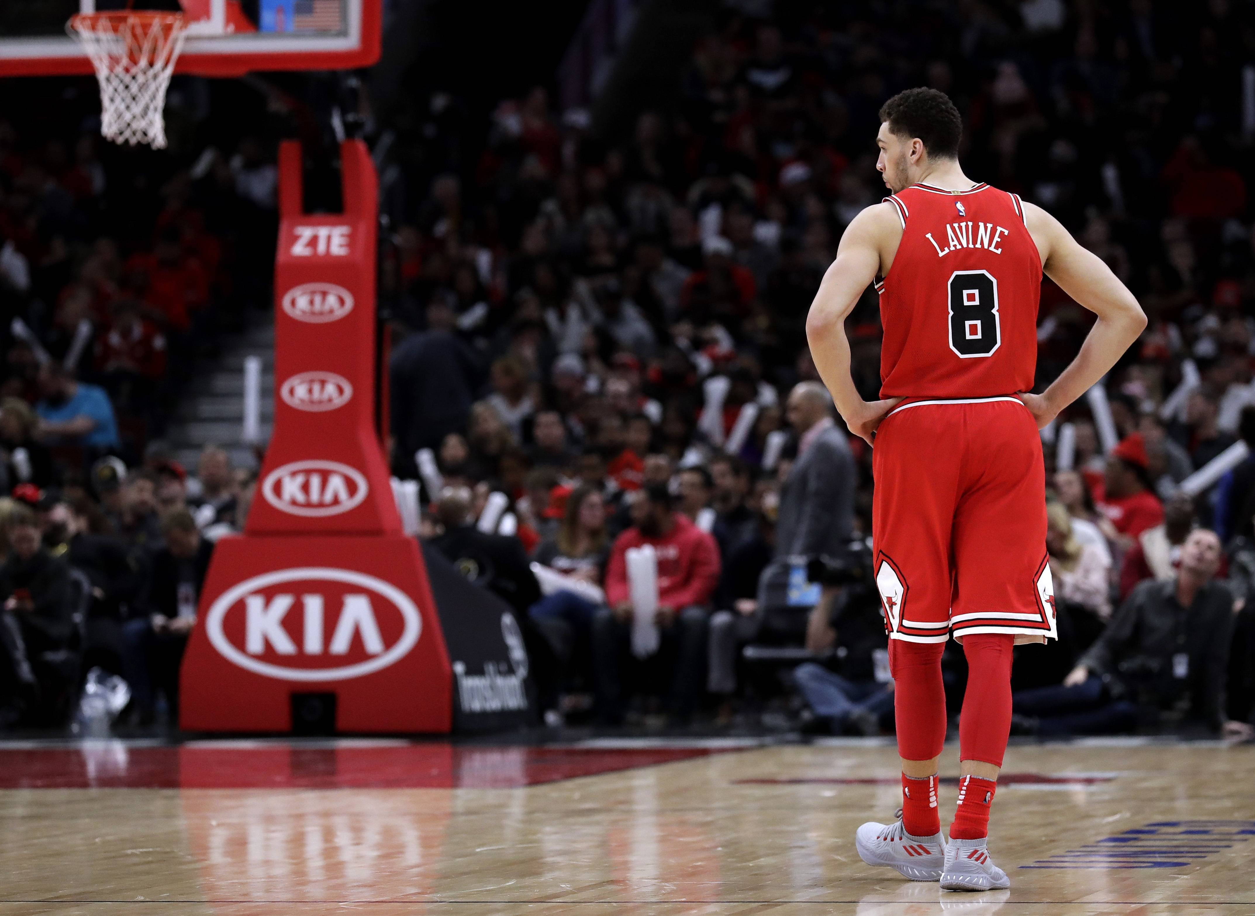 Chicago Bulls hit all-star break with a whimper, lose badly to Toronto