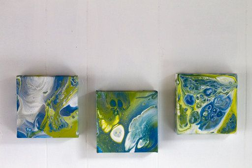 Try Acrylic Pour Painting And Go With The Flow