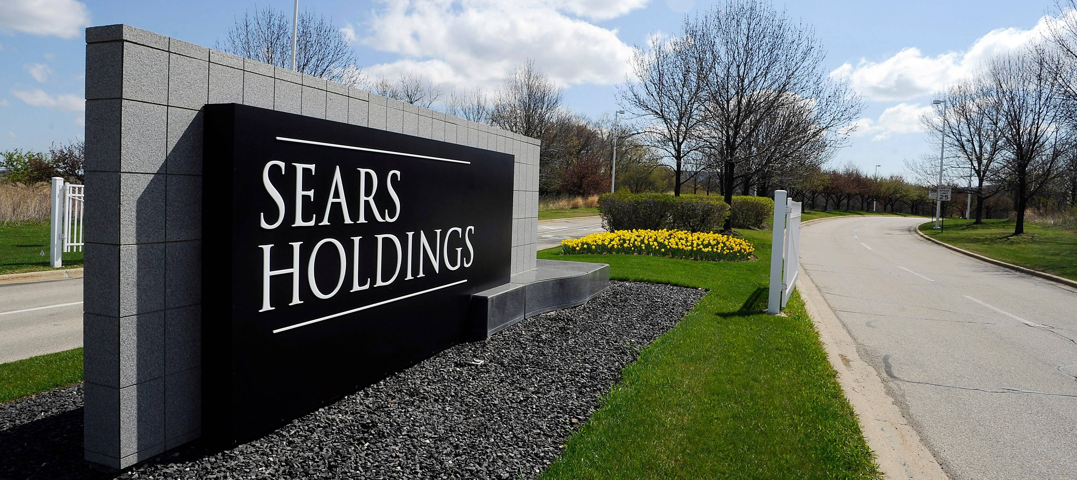 Sears Holdings Corp. says sales dropped during the critical fourth quarter, but the ailing retailer expects to earn a profit, helped by a windfall from U.S. tax reform.