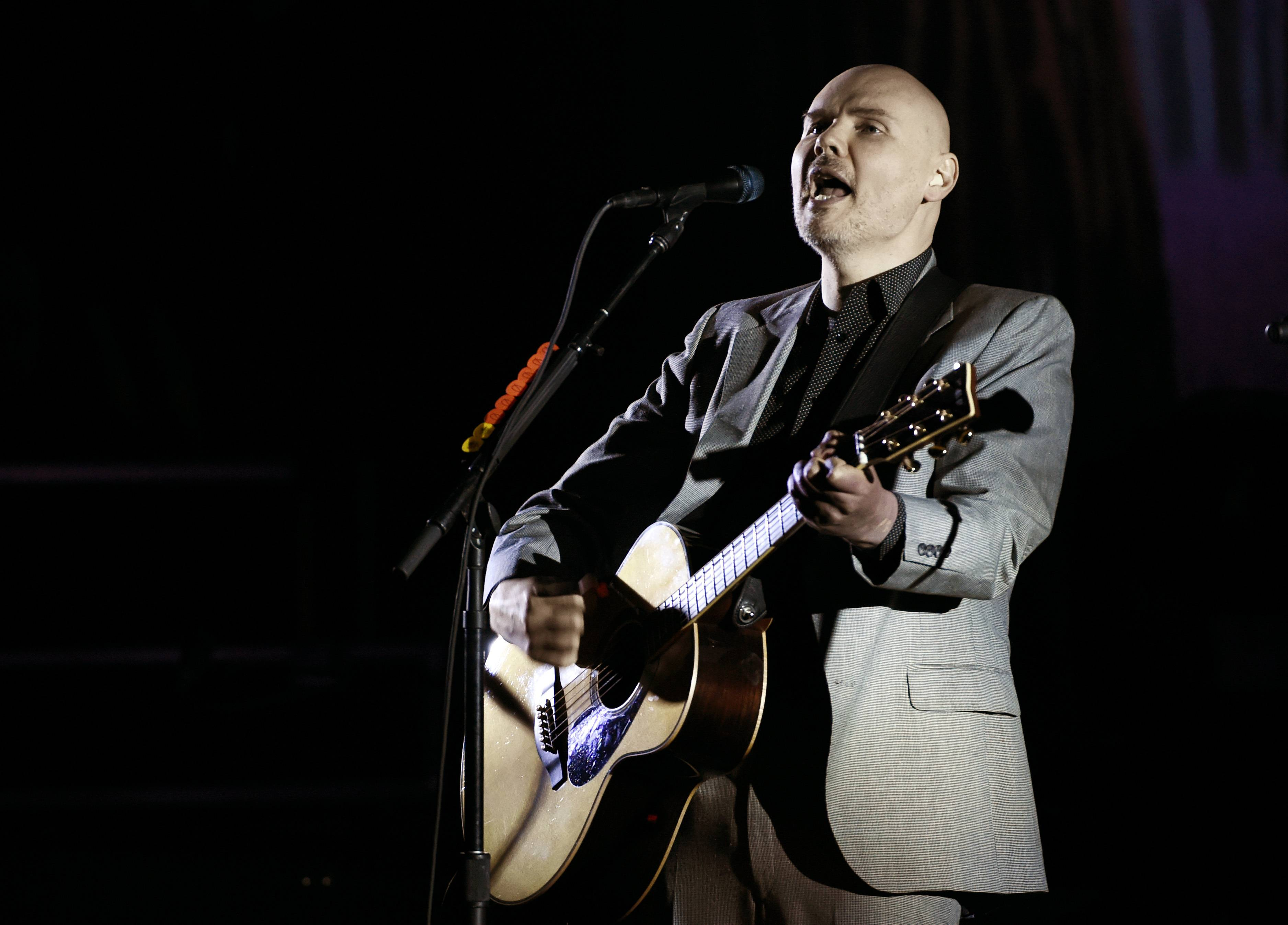 Frontman Billy Corgan will tour with original Smashing Pumpkins bandmates James Iha and Jimmy Chamberlain for the first time since 2000. The tour will play the United Center Aug. 13.