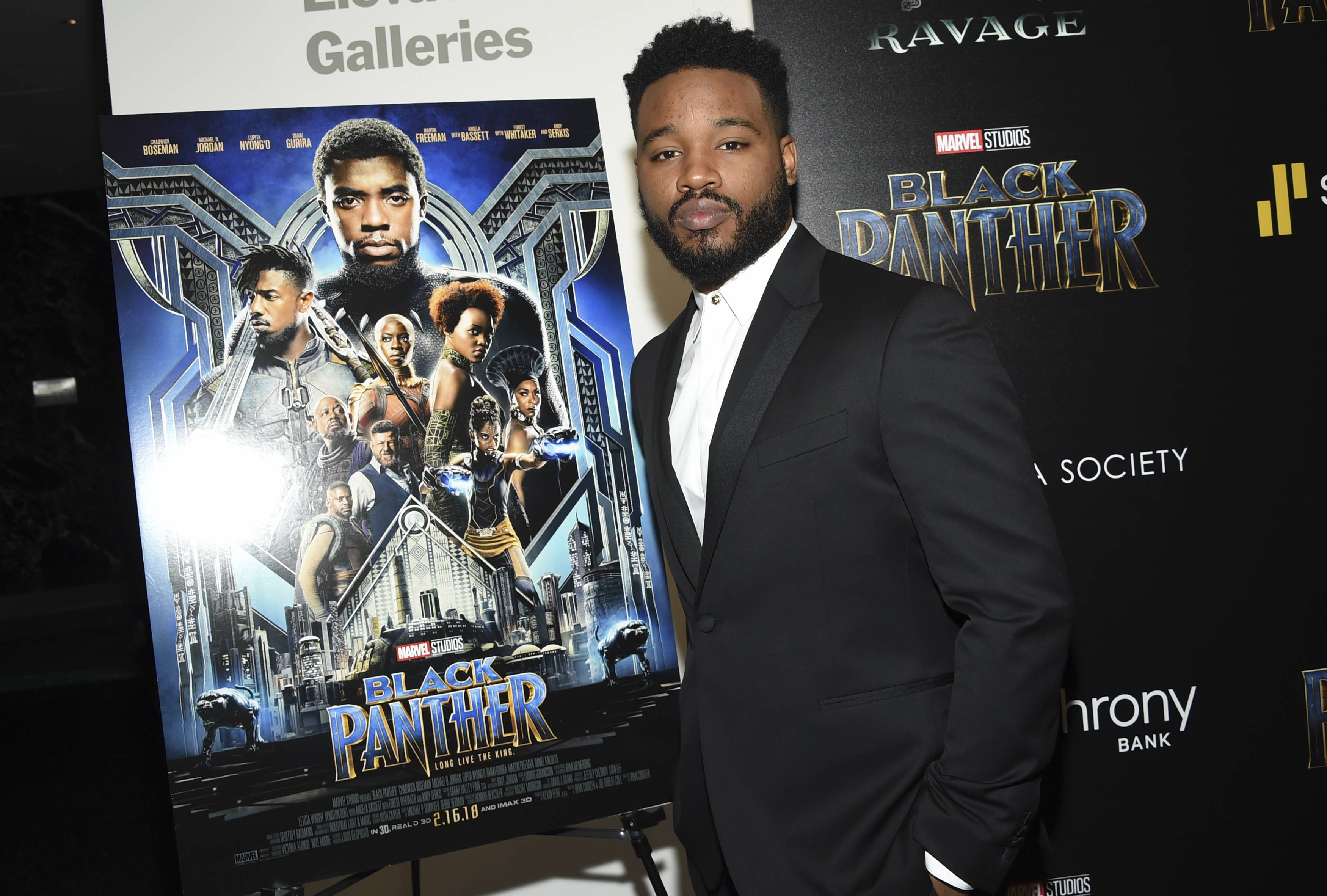 "Director Ryan Coogler attends a special screening of ""Black Panther"" at the Museum of Modern Art on earlier this week in New York."