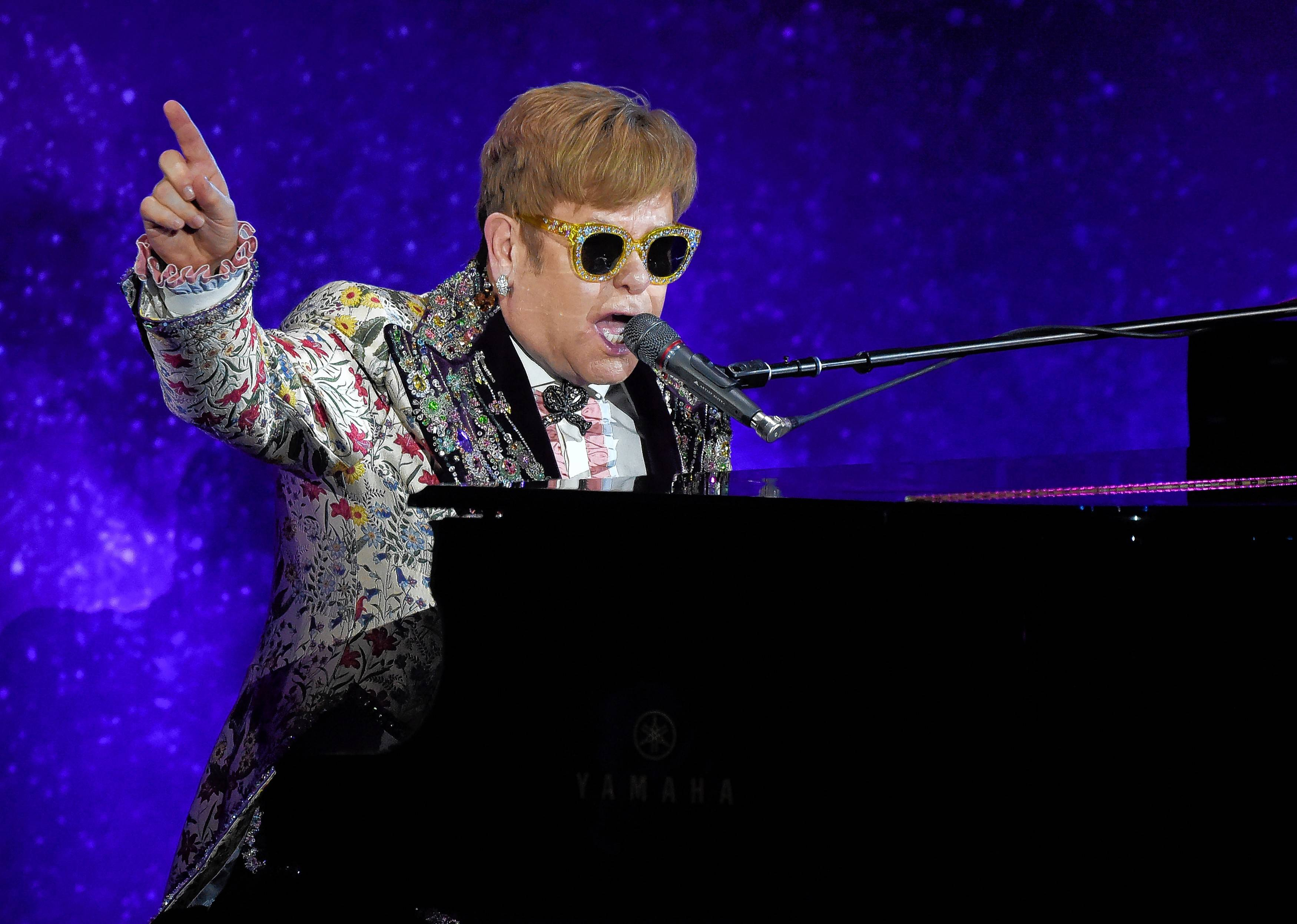 Elton John's final world tour will make two stops in the area. He plays Chicago's United Center on Oct. 26 and 27 and Rosemont's Allstate Arena on Feb. 15 and 16, 2019.